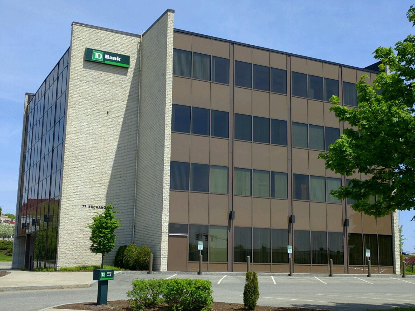 TD Bank branch in Bangor, Maine.