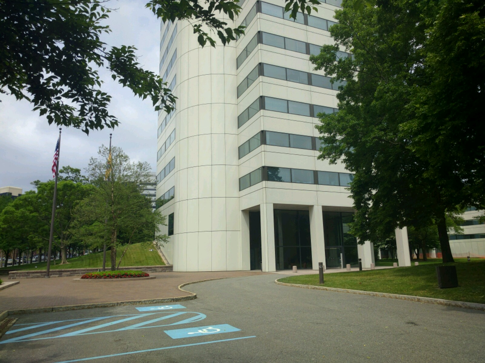Johnson & Johnson's corporate headquarters in New Brunswick, New Jersey.
