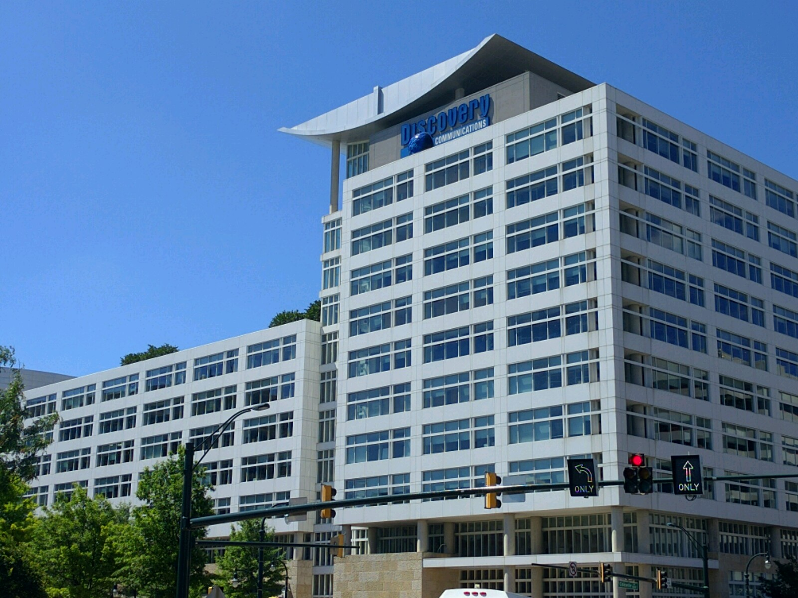 Discovery Communications' corporate headquarters in Silver Spring, Maryland.