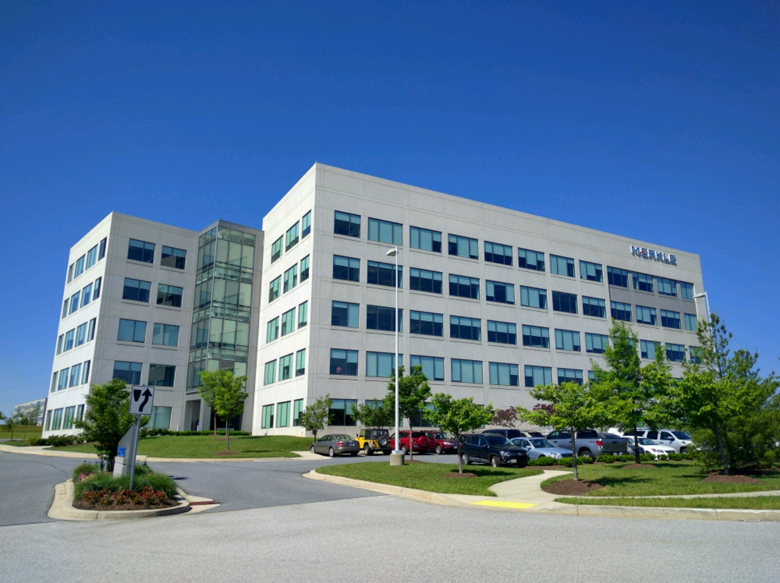 Merkle's corporate headquarters in Columbia, Maryland.