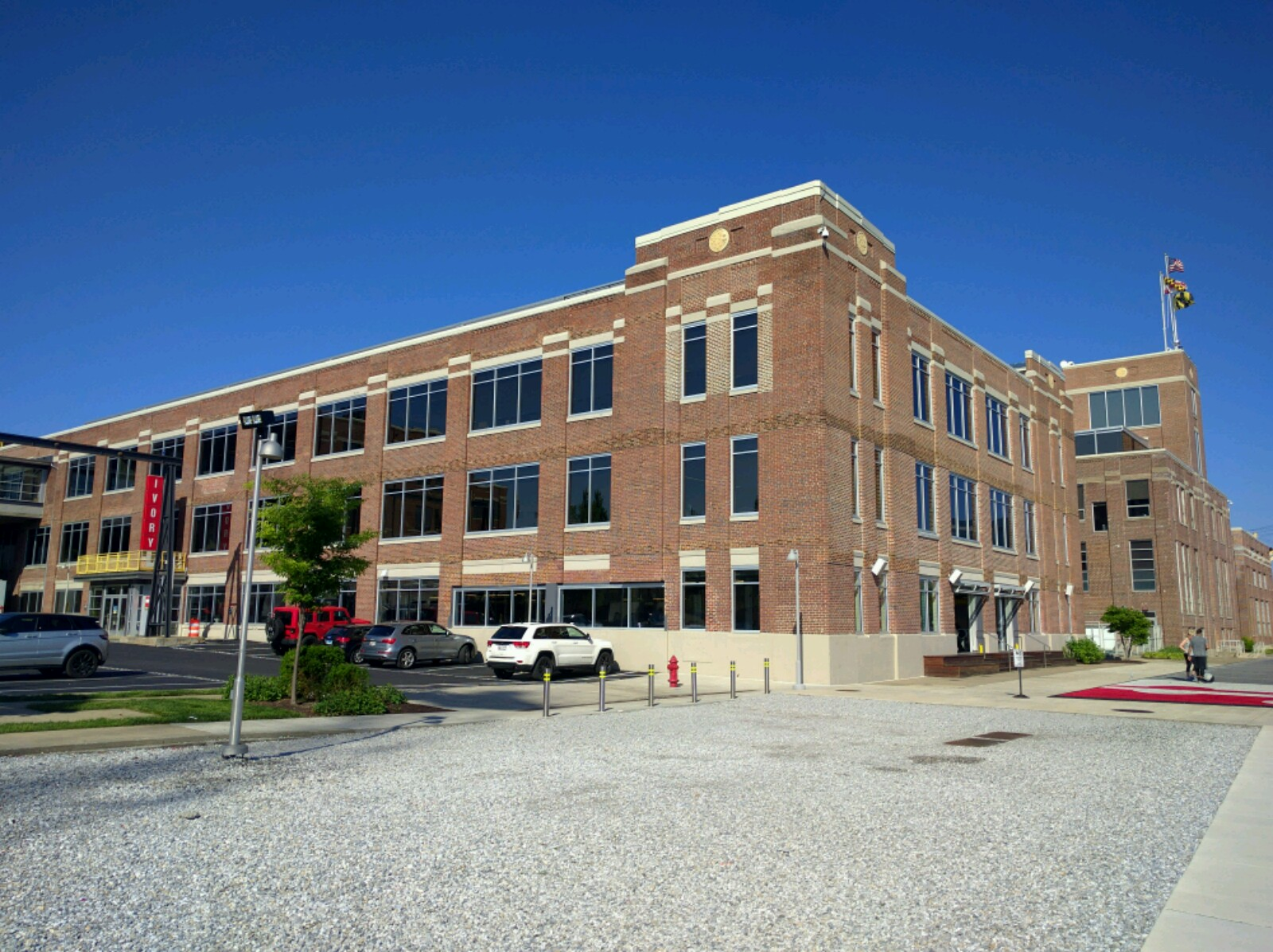 Building on Under Armour's corporate campus in Baltimore, Maryland.