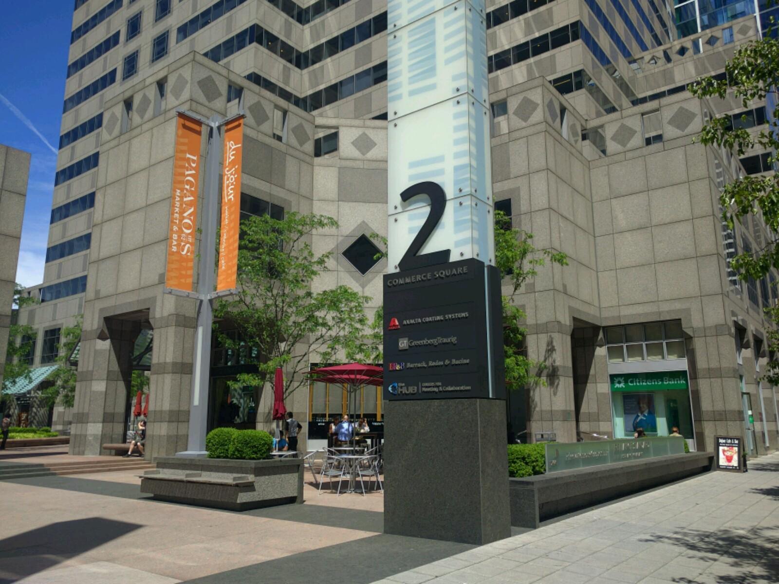 Axalta's corporate headquarters in downtown Philadelphia.