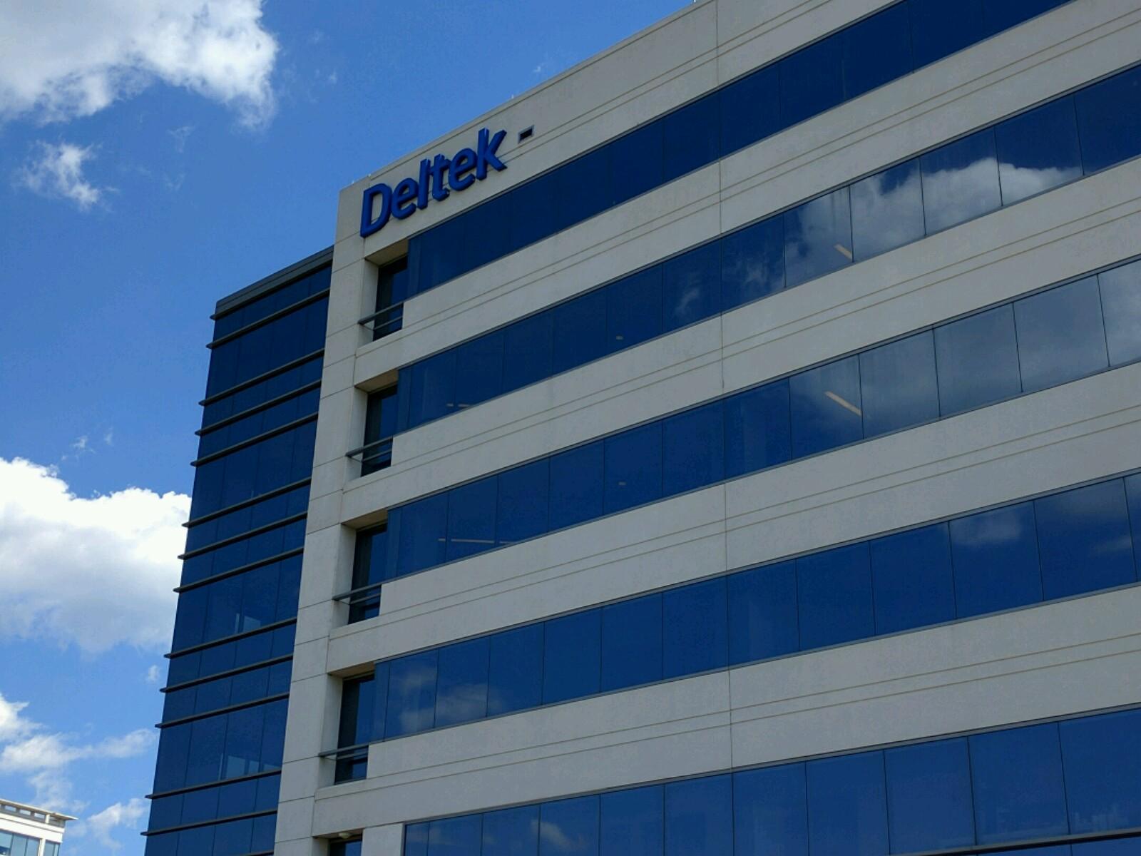 Deltek's corporate headquarters in Herndon, Virginia.
