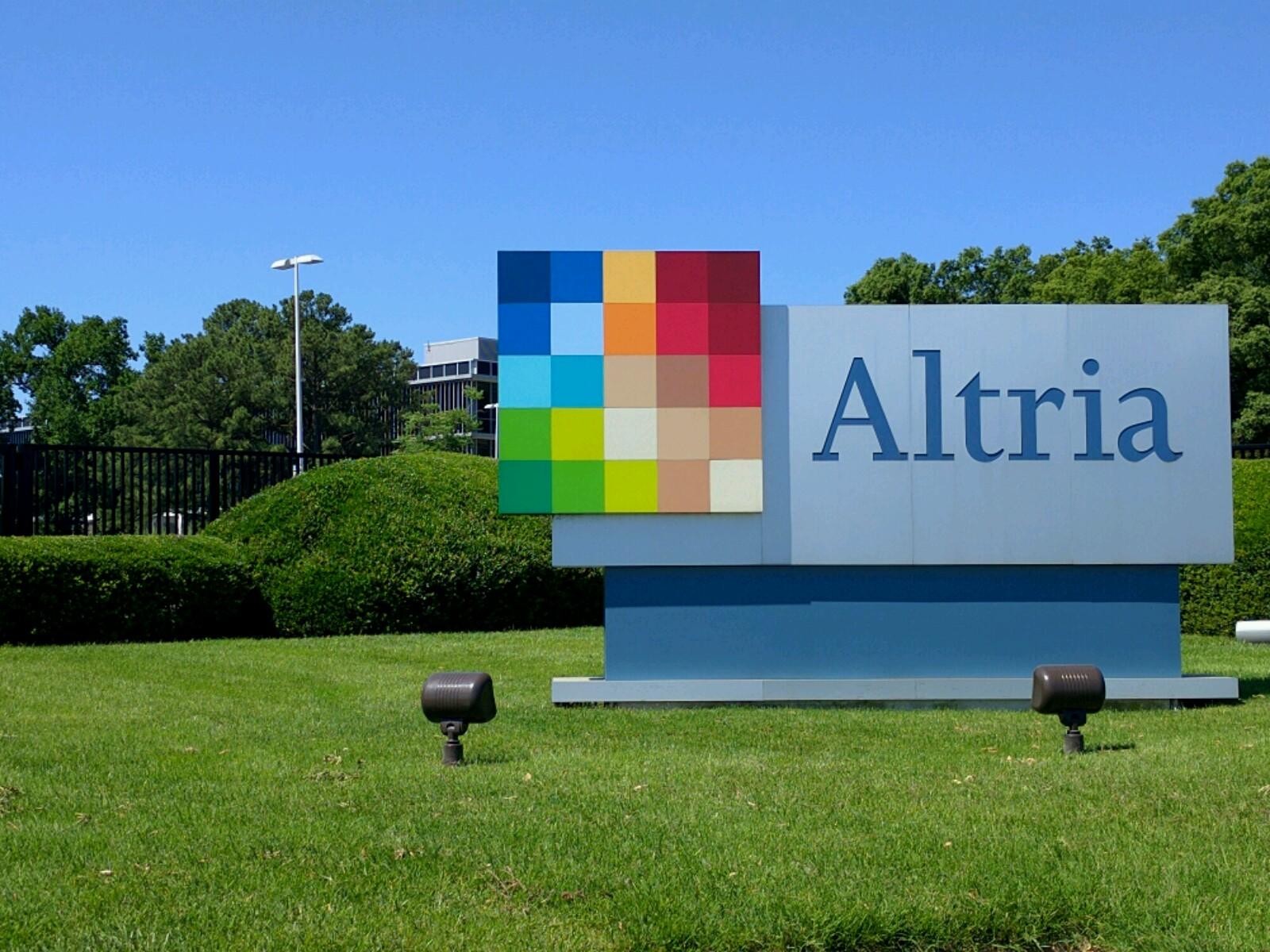Entrance to Altria's corporate headquarters in Richmond, Virginia.