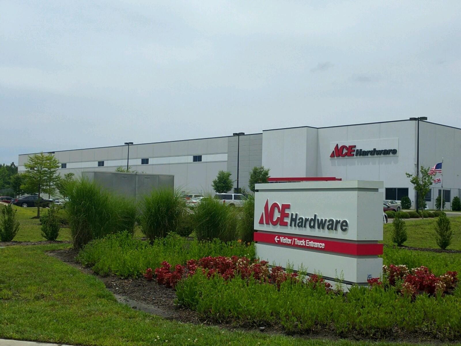 Ace Hardware distribution center in Suffolk, Virginia.