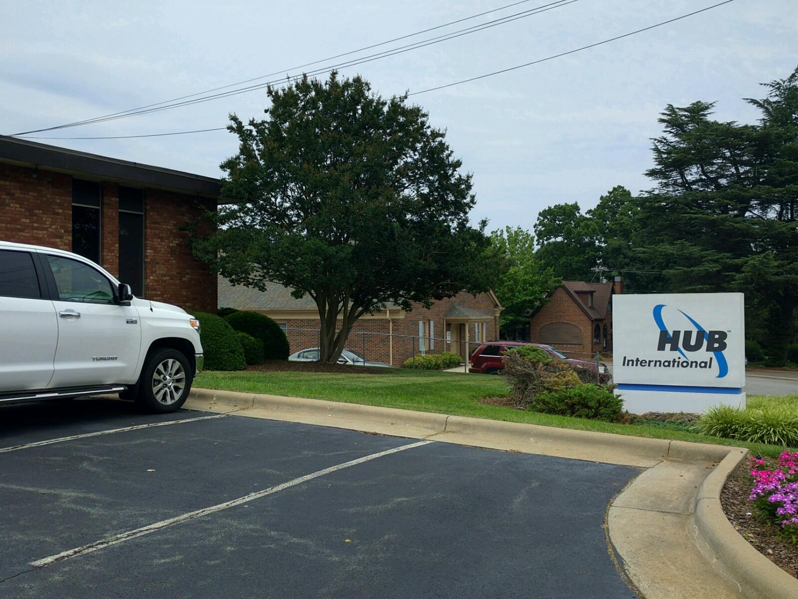 HUB International office in Burlington, North Carolina.