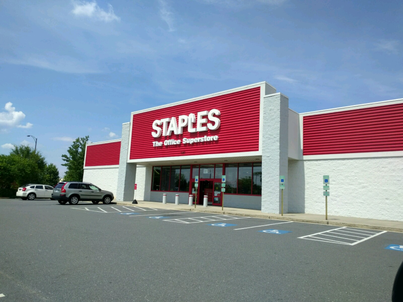 Staples store in Rock Hill, South Carolina.