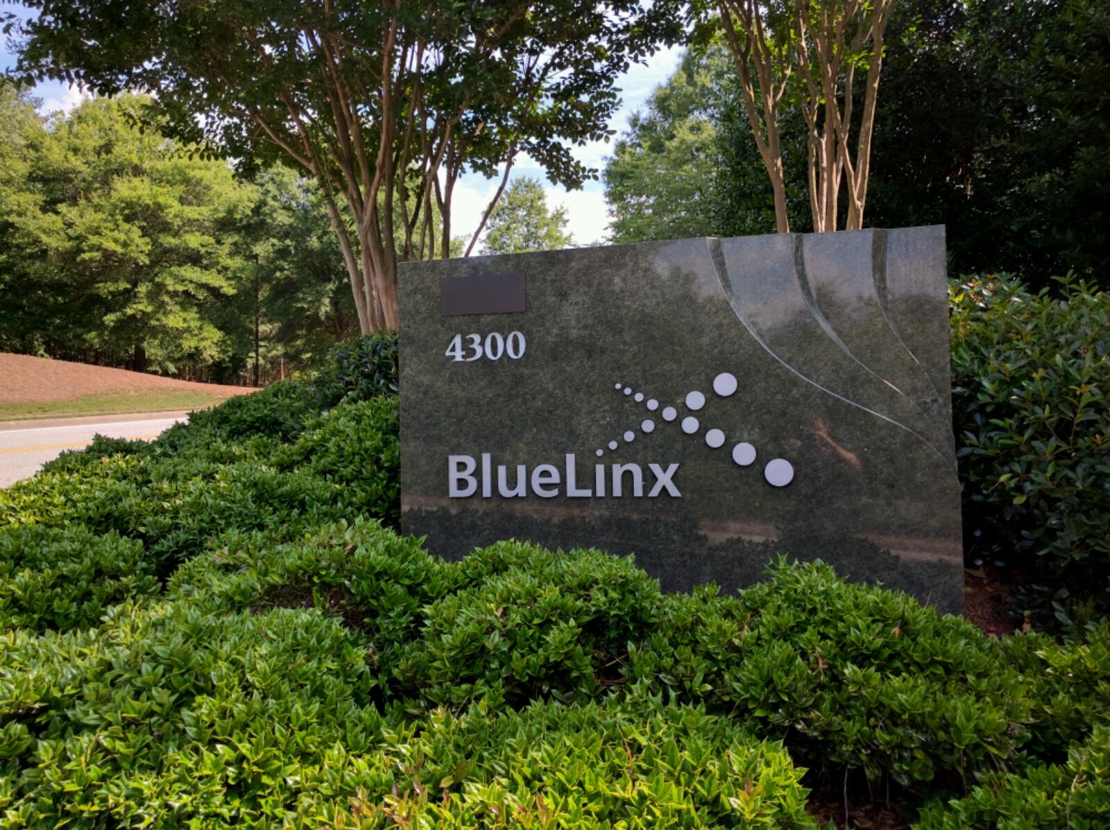 Entrance to BlueLinx's corporate headquarters in Atlanta, Georgia.