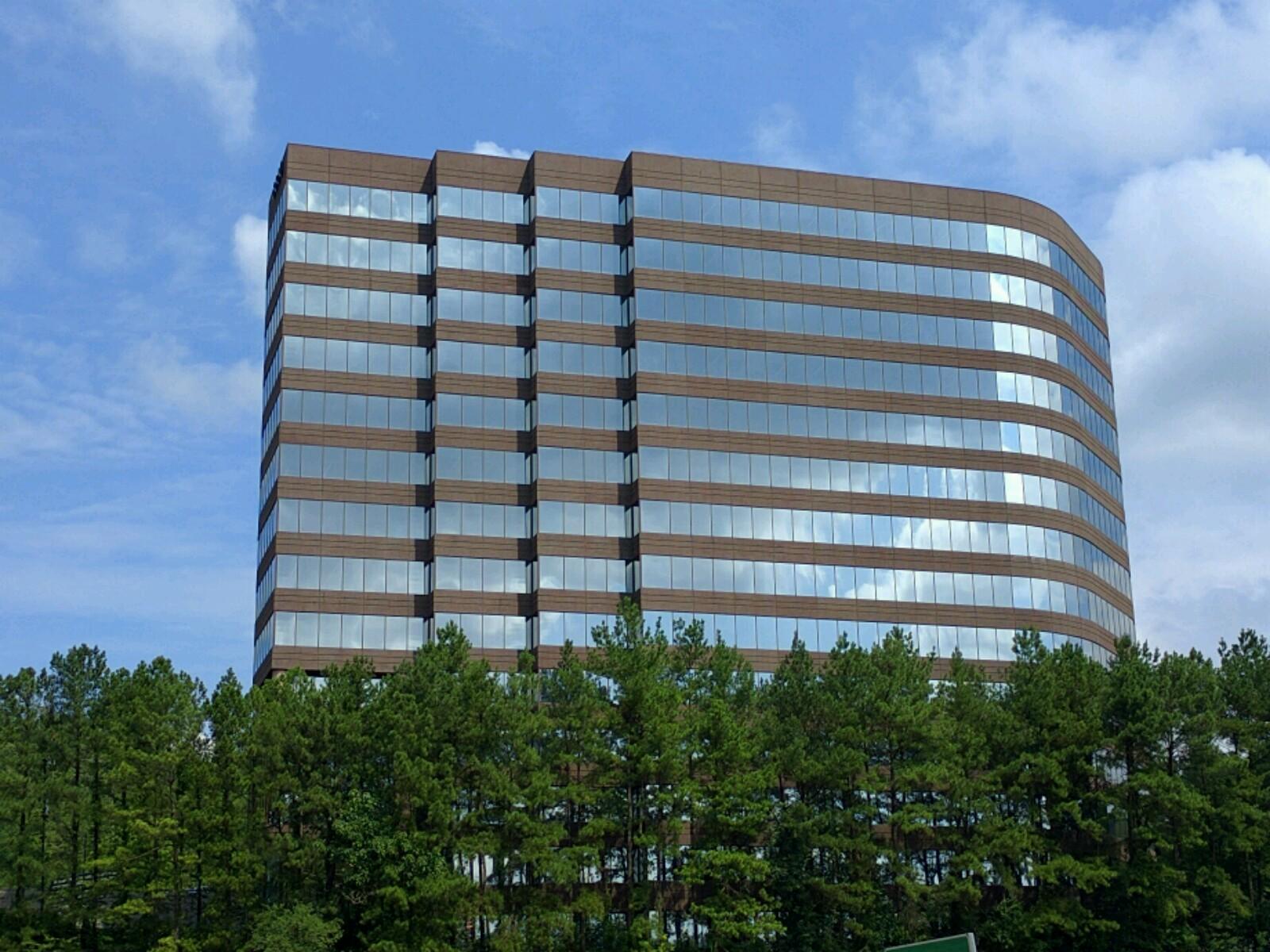 View of Intercontinental Exchange's corporate headquarters in Atlanta, Georgia.