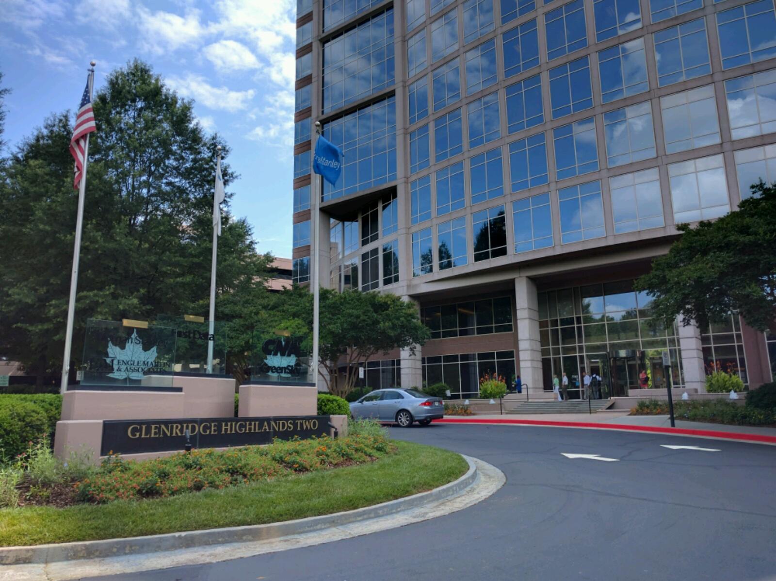 First Data's corporate headquarters in Atlanta, Georgia.