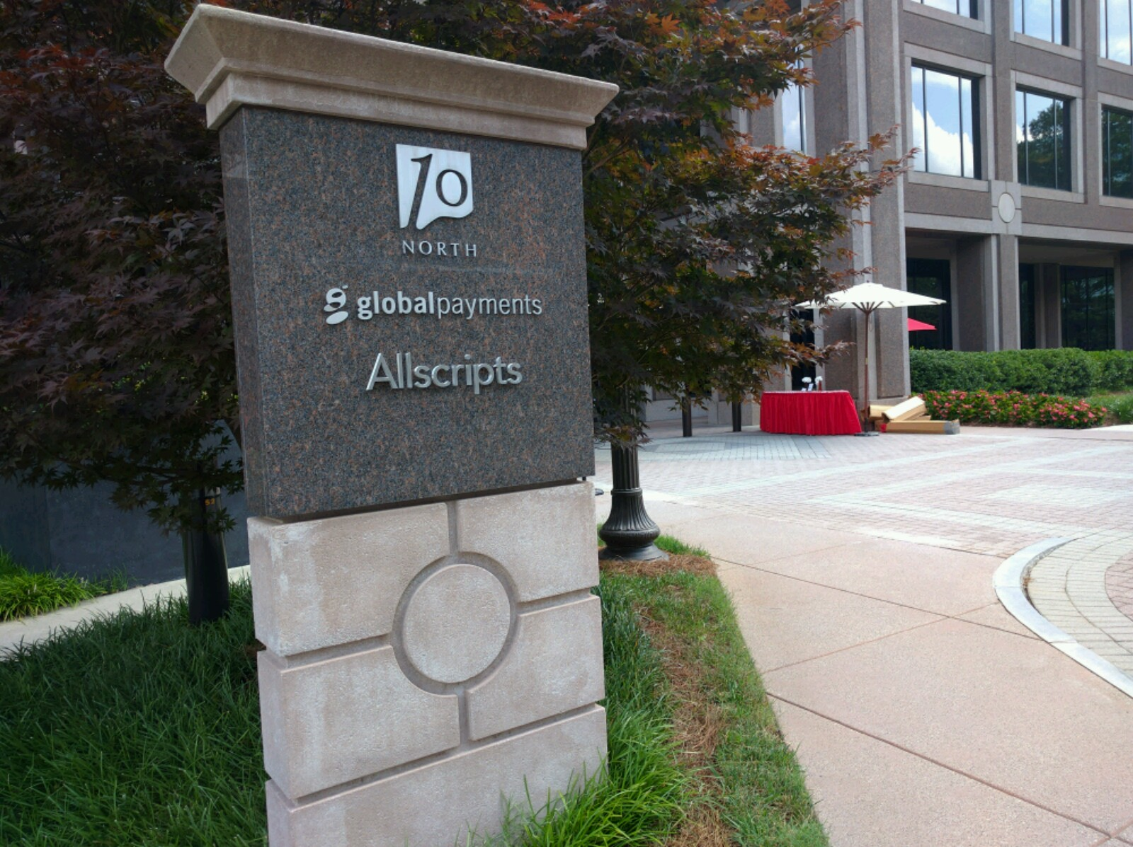 View of Global Payments' corporate headquarters in Atlanta, Georgia.