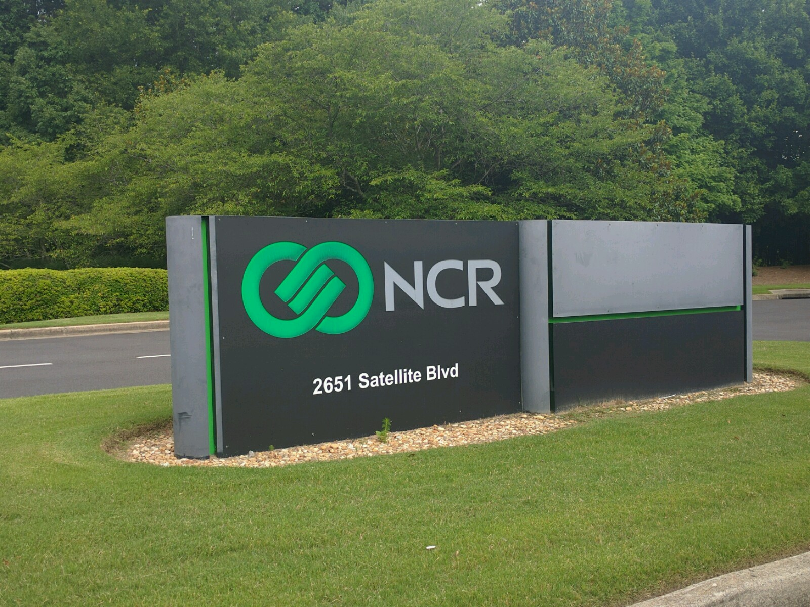 NCR's campus in Duluth, Georgia.