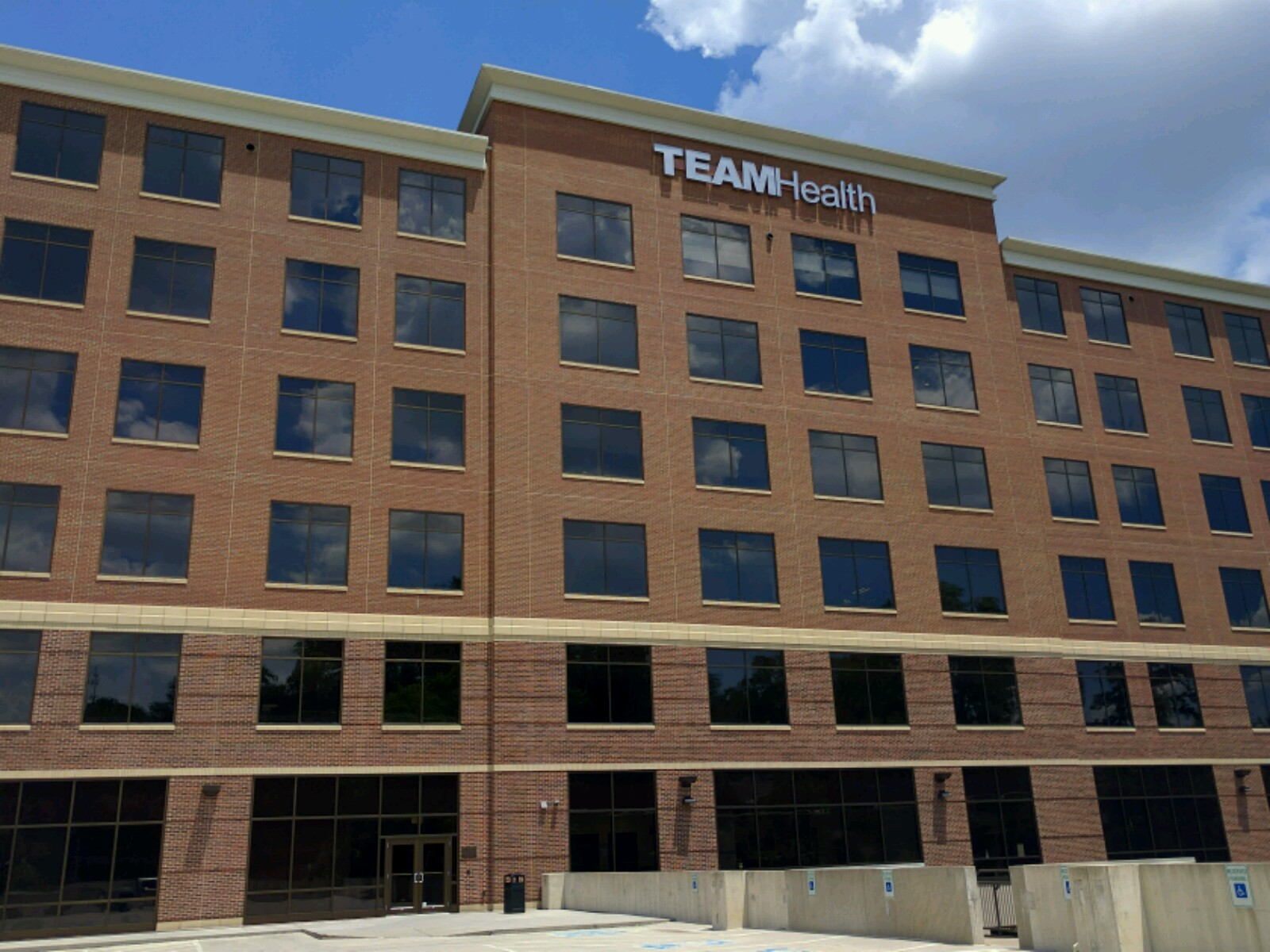 Team Health's corporate headquarters in Knoxville, Tennessee.