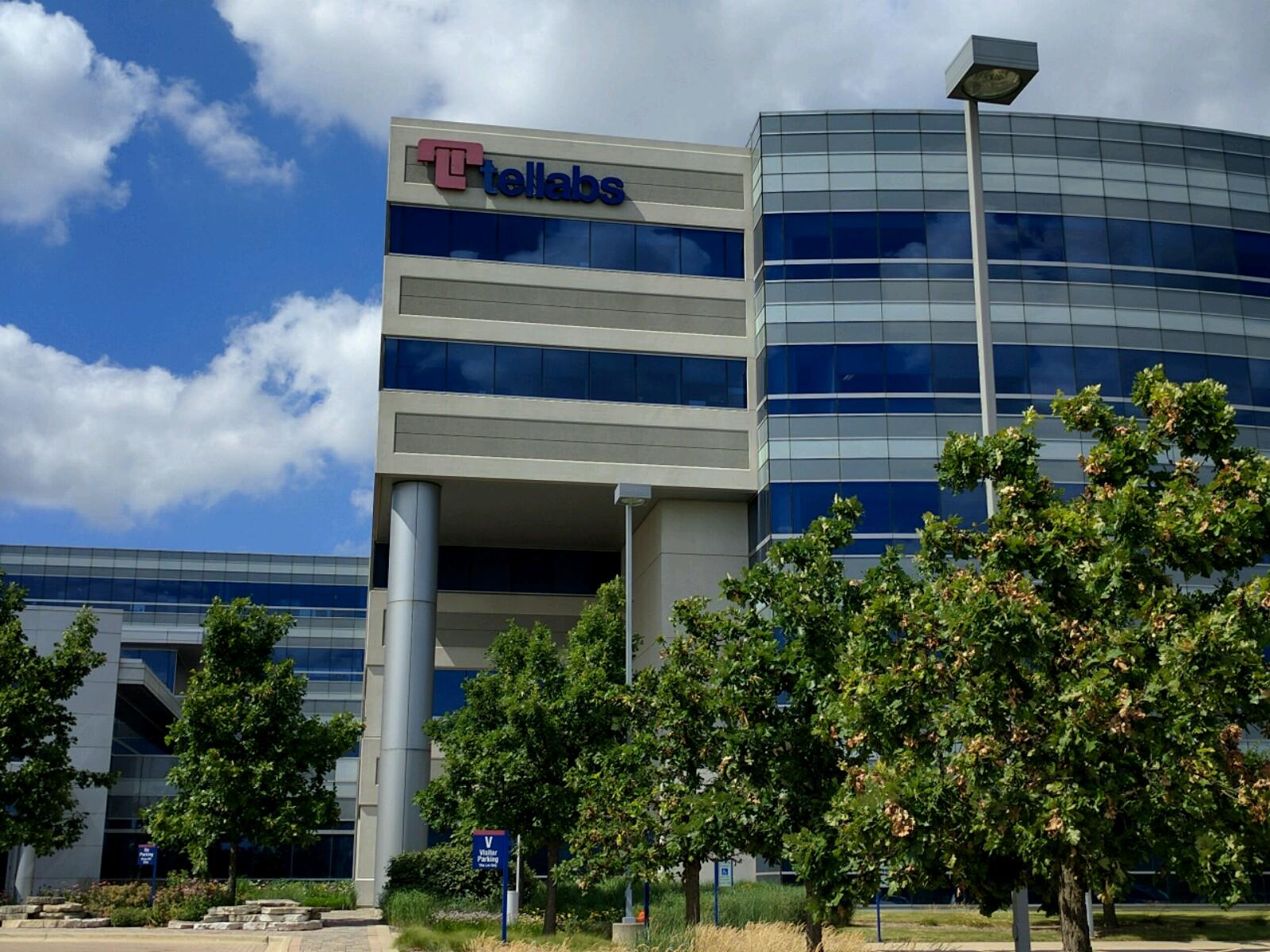 Tellabs' corporate headquarters in Naperville, Illinois.