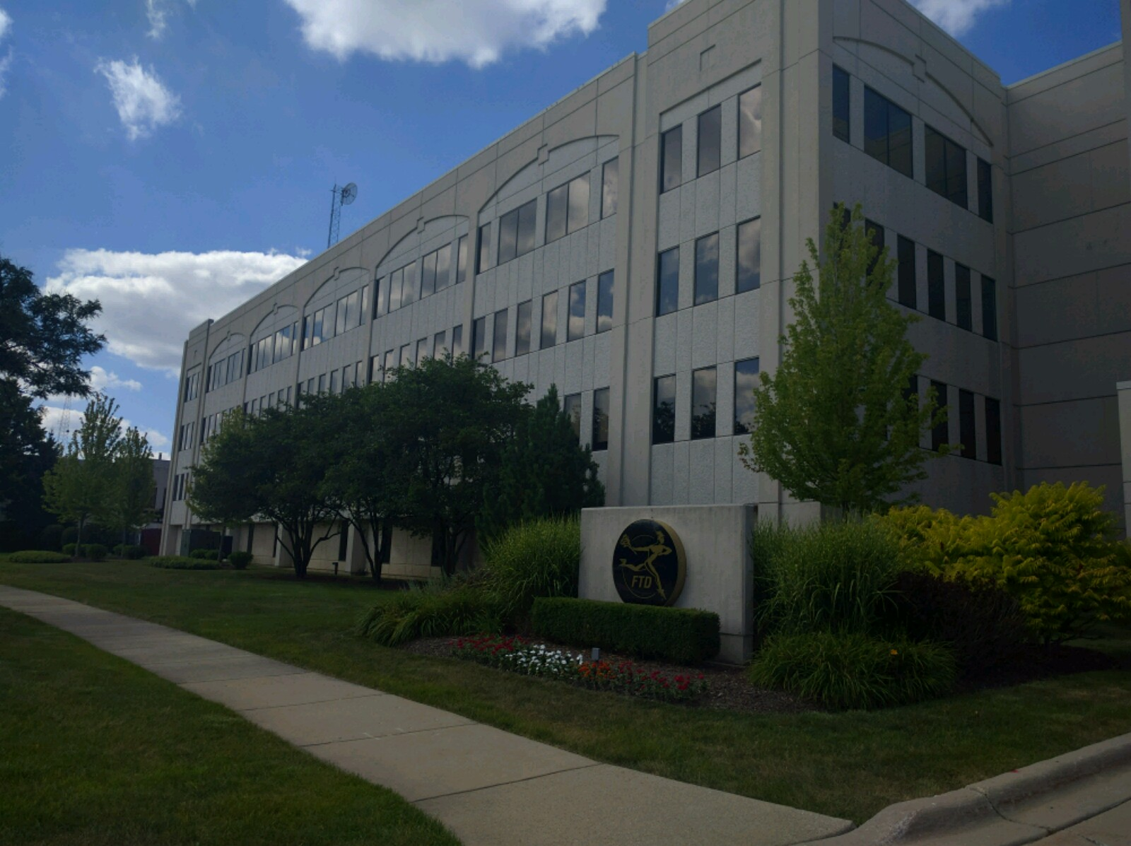 FTD's corporate headquarters in Downers Grove, Illinois.