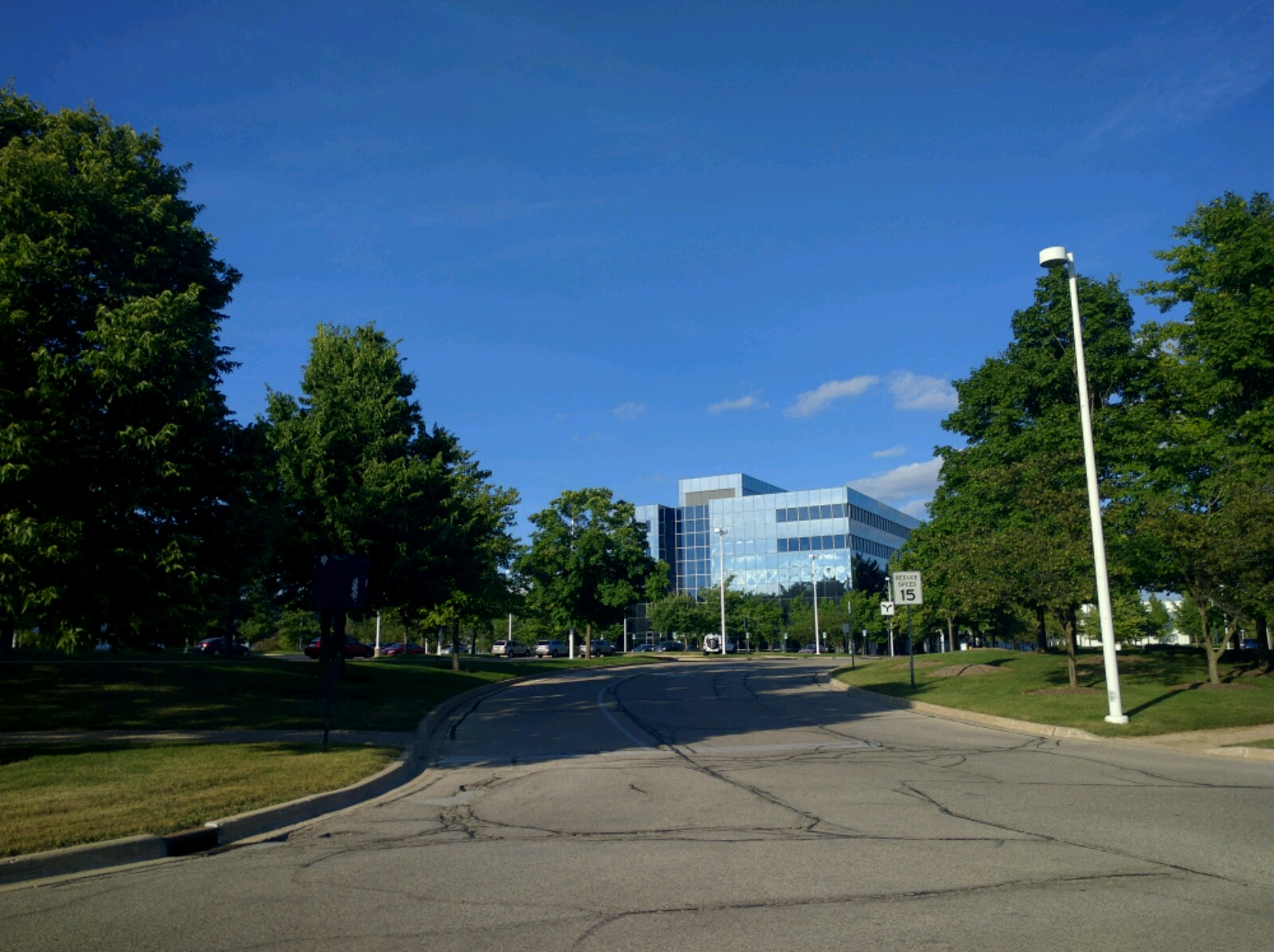 Sears Holdings' corporate headquarters in Hoffman Estates, Illinois.