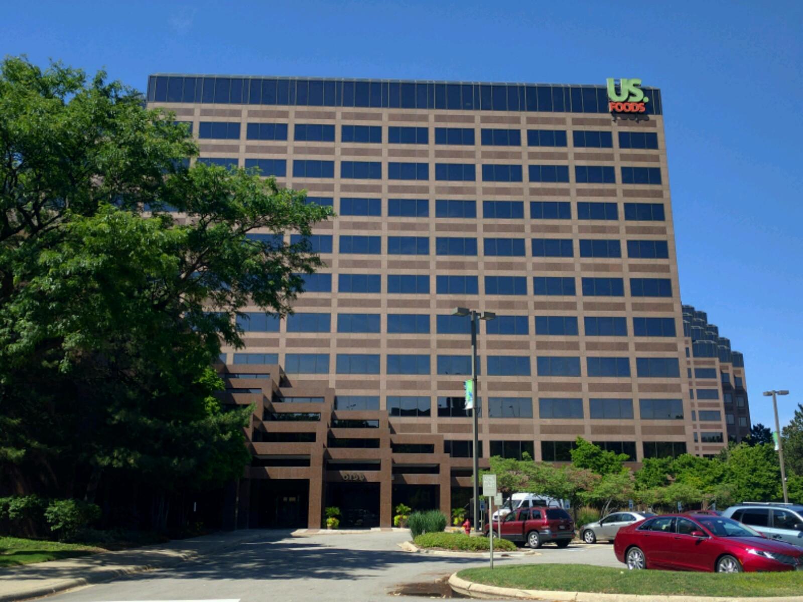 US Foods' headquarters in Rosemont, Illinois.