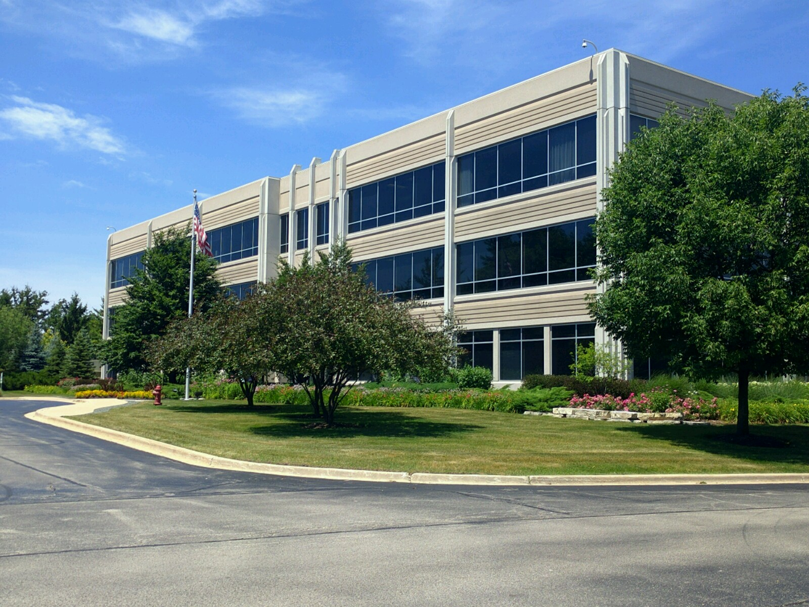 Packaging Corporation of America's corporate headquarters in Lake Forest, Illinois.