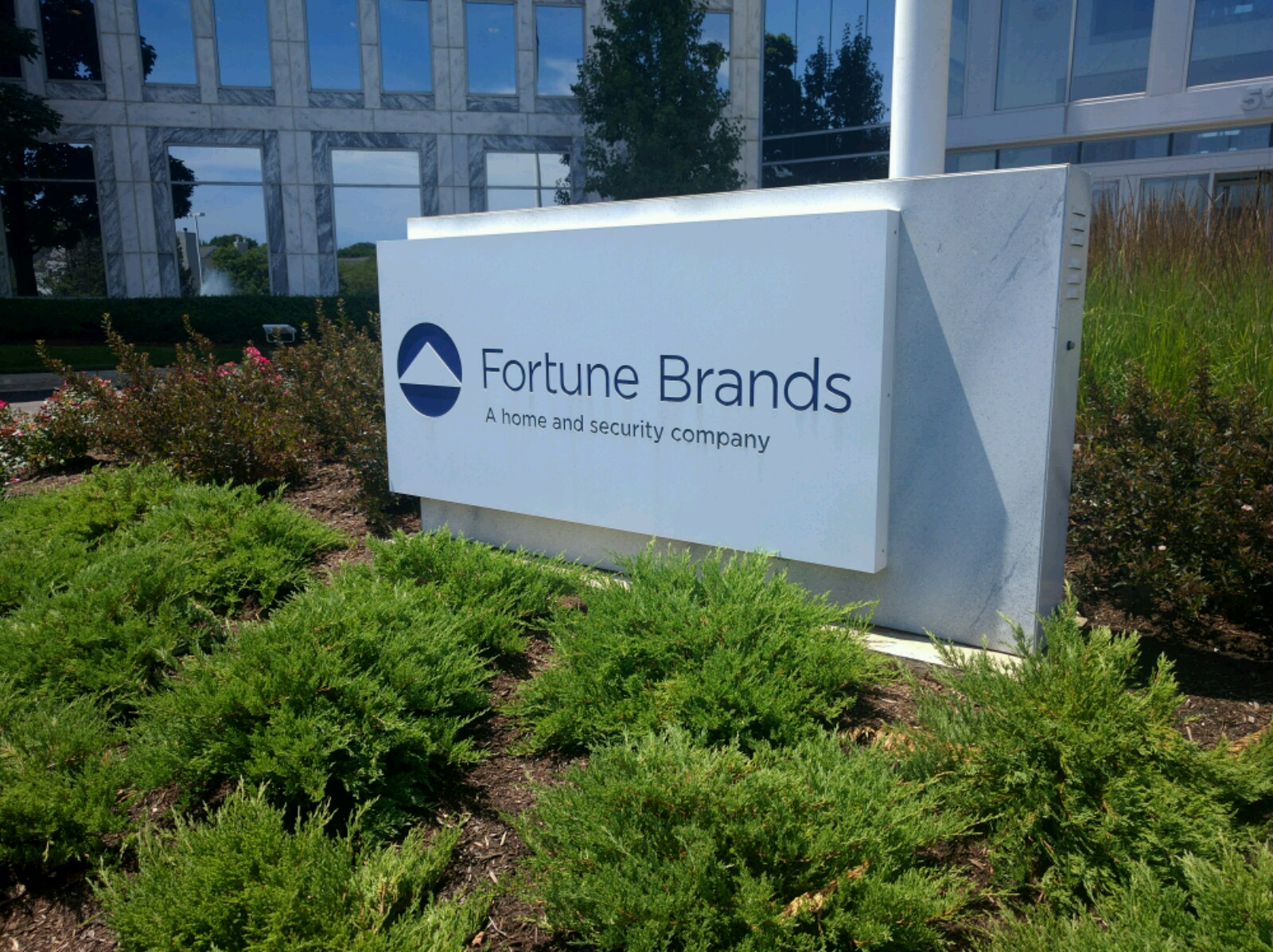 Fortune Brands' corporate headquarters in Deerfield, Illinois.