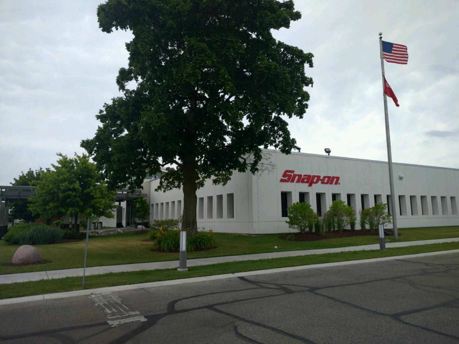 Snap-on's corporate headquarters in Kenosha, Wisconsin.