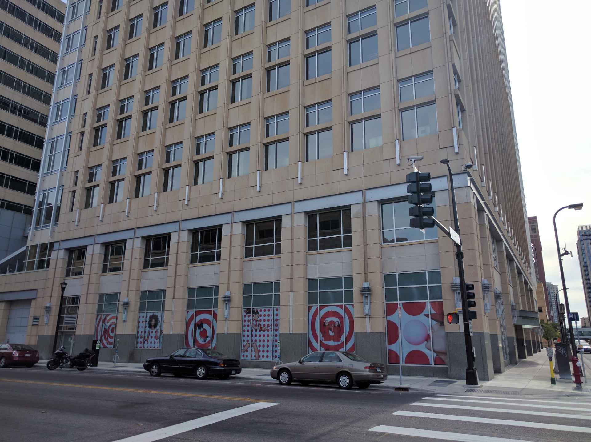 Target's corporate headquarters in downtown Minneapolis, Minnesota.