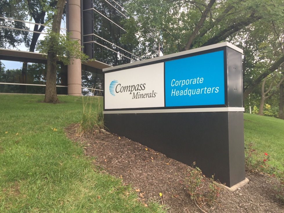 Compass Minerals' corporate headquarters in Overland Park, Kansas.