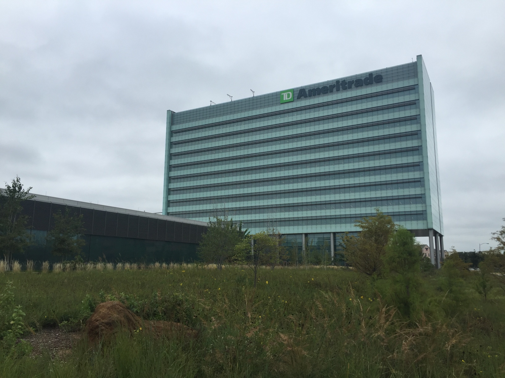 TD Ameritrade's corporate headquarters in Omaha, Nebraska.
