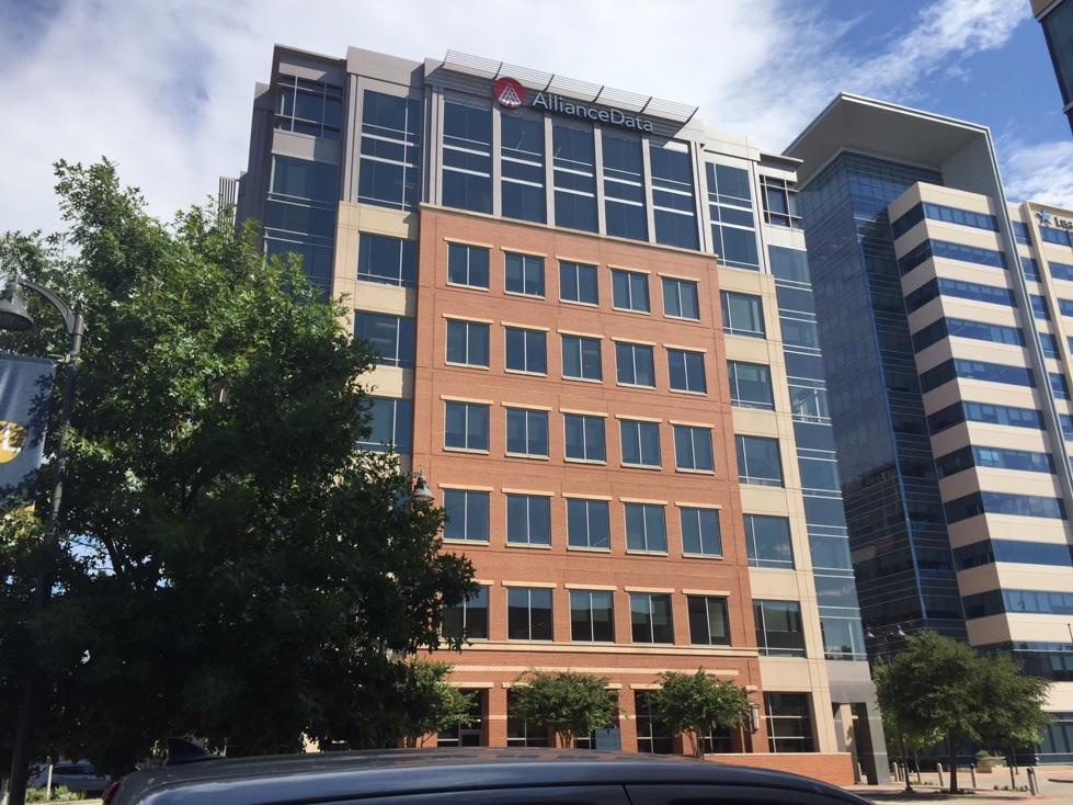 Alliance Data Systems' corporate headquarters in Plano, Texas.