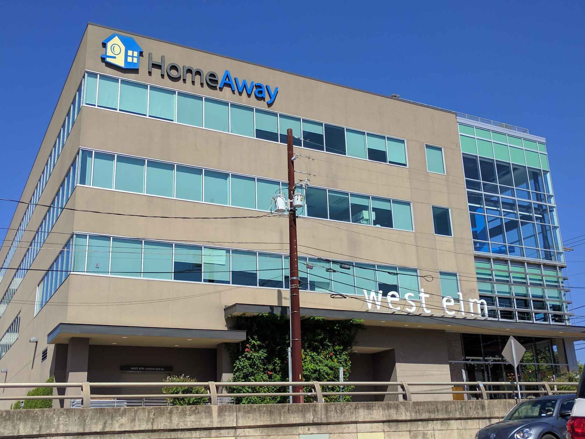 HomeAway office in downtown Austin, Texas.