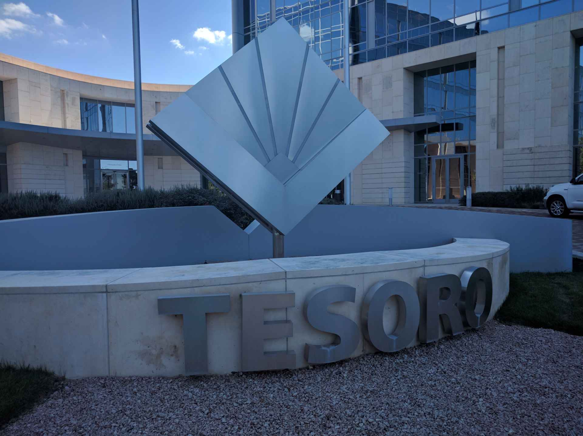 Tesoro's corporate headquarters in San Antonio, Texas.