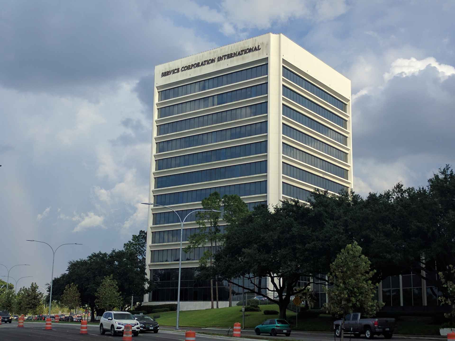 Service Corporation International's corporate headquarters in Houston, Texas.