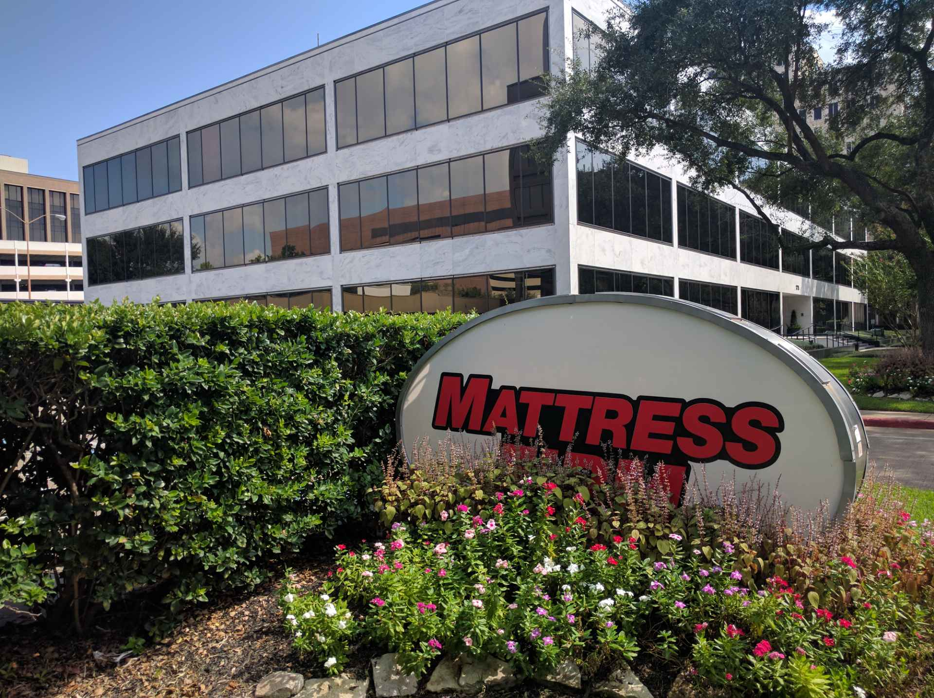 Mattress Firm office in Houston, Texas.