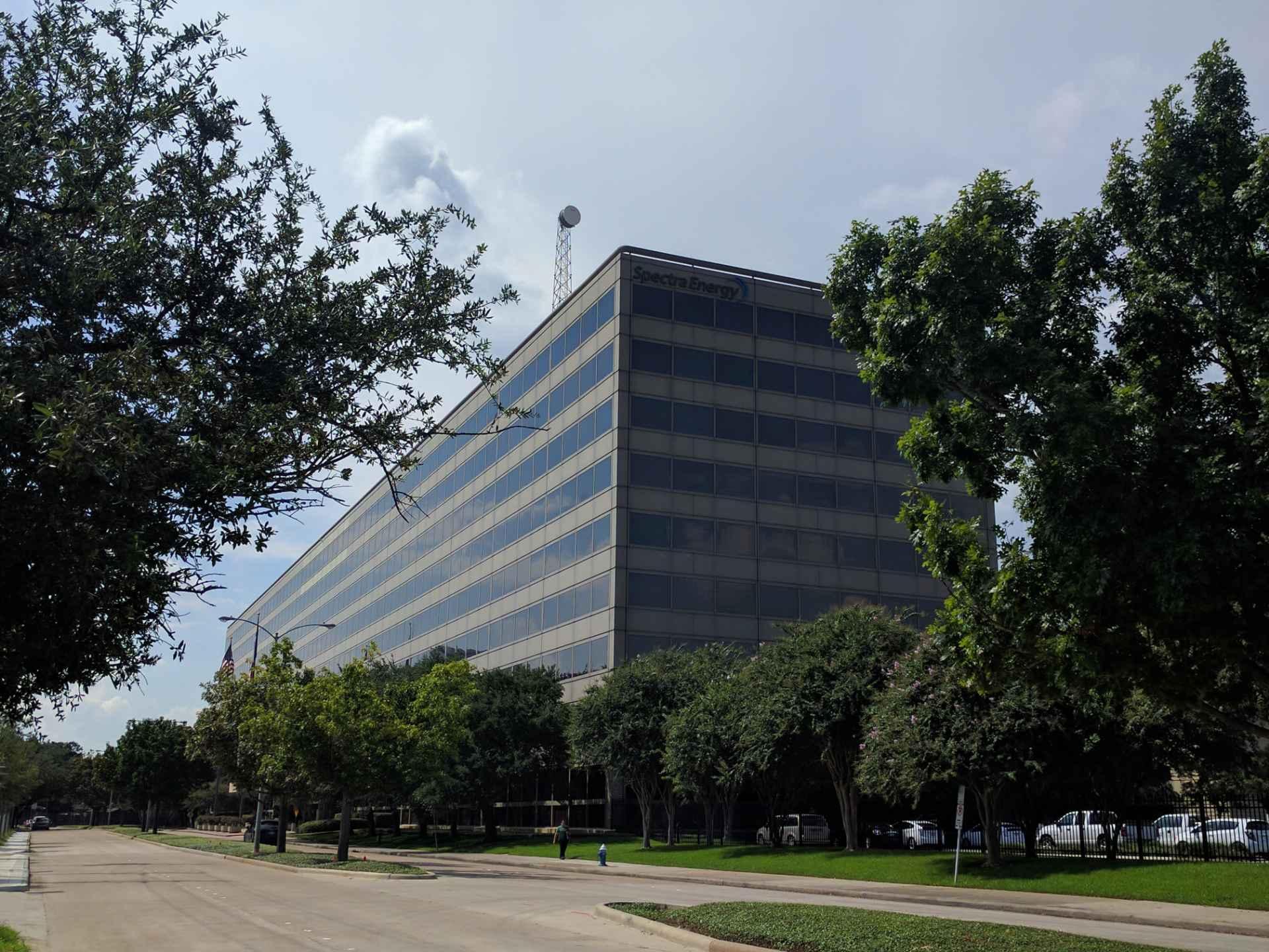 Spectra Energy's corporate headquarters in Houston, Texas.