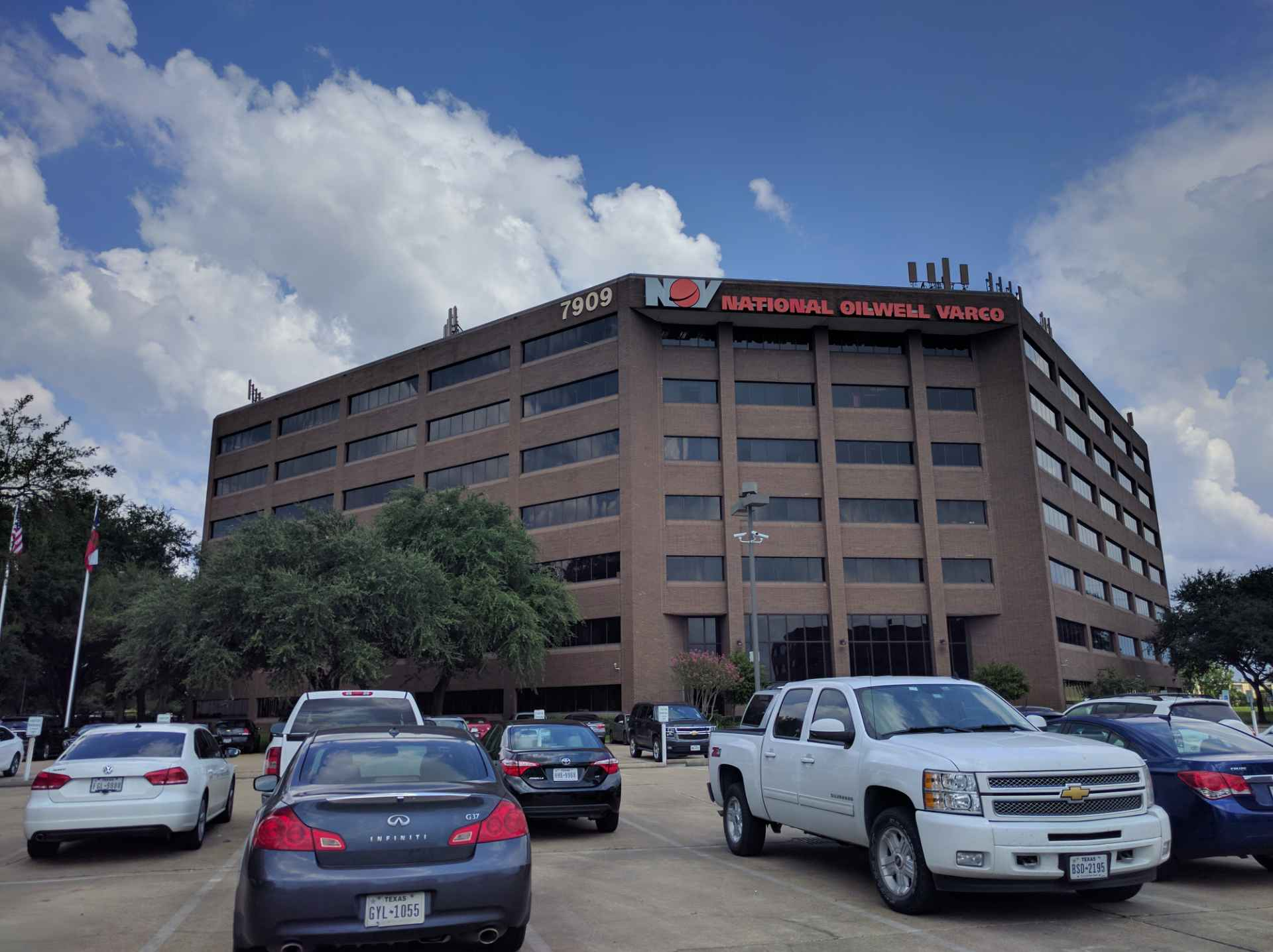 National Oilwell Varco's corporate headquarters in Houston, Texas.
