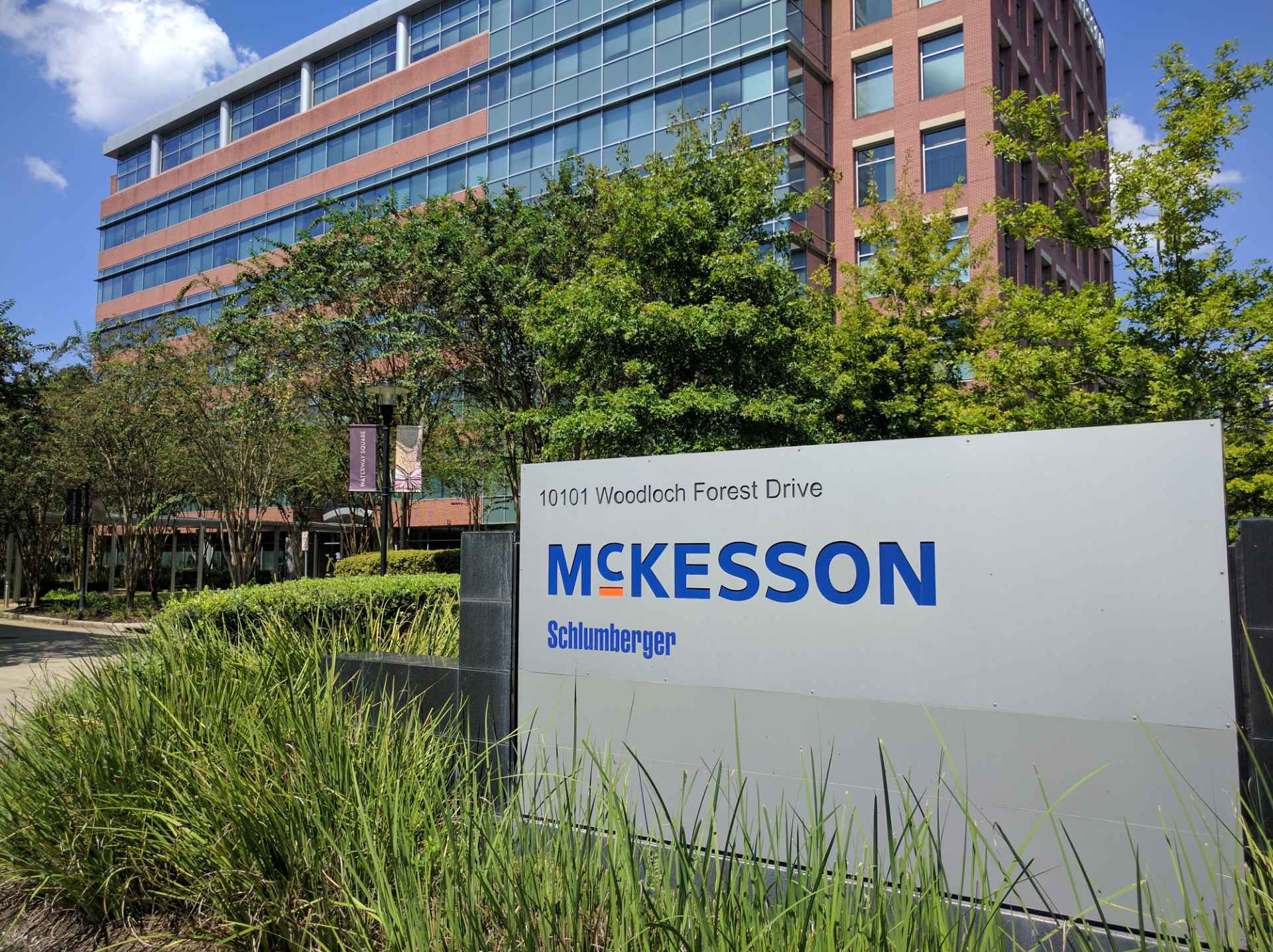 McKesson office in The Woodlands, Texas.