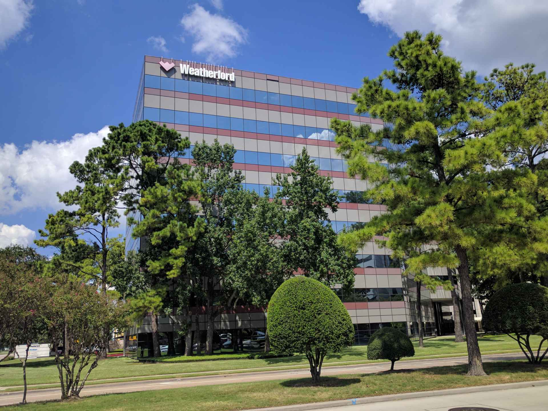 Weatherford office in Houston, Texas.