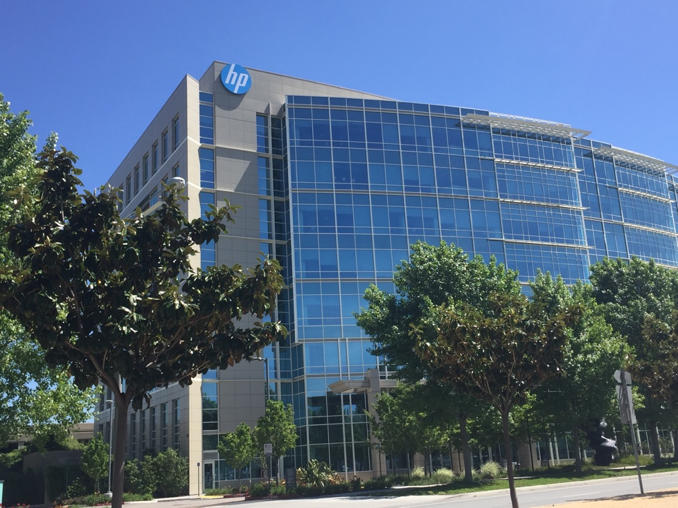 HP office in Sunnyvale, California.