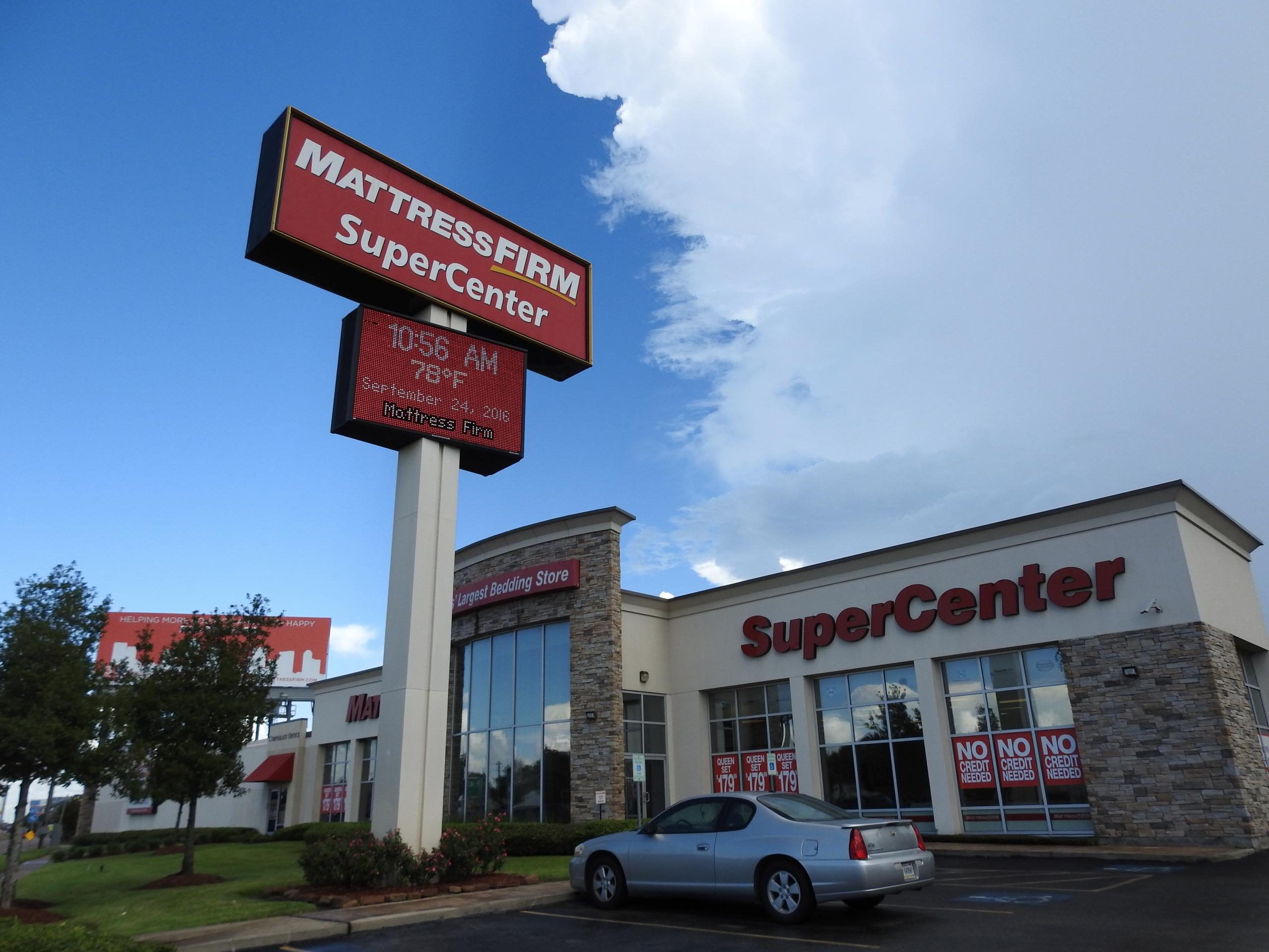 Mattress Firm's flagship store in Houston, Texas.