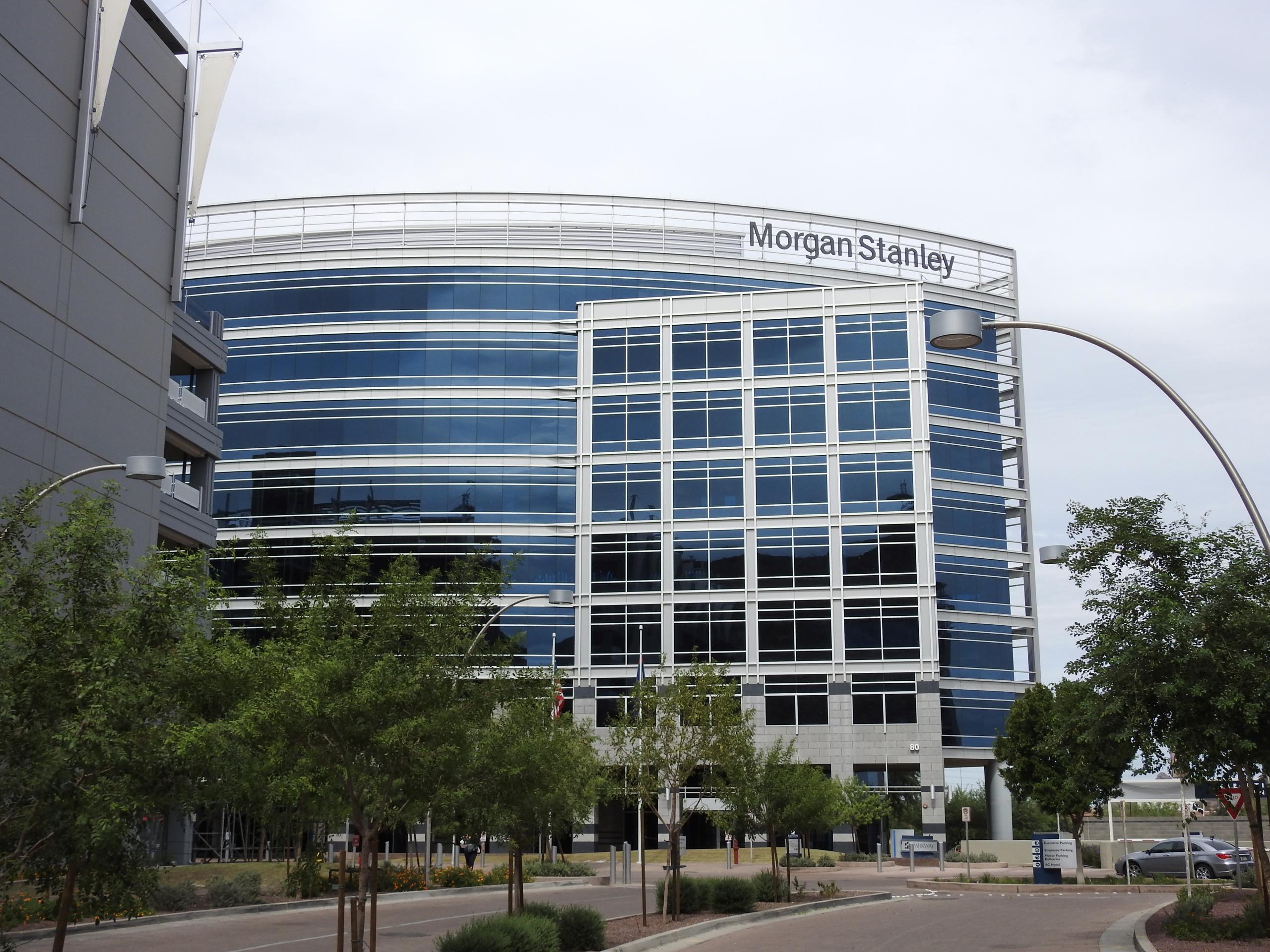 Morgan Stanley office in Tempe, Arizona.