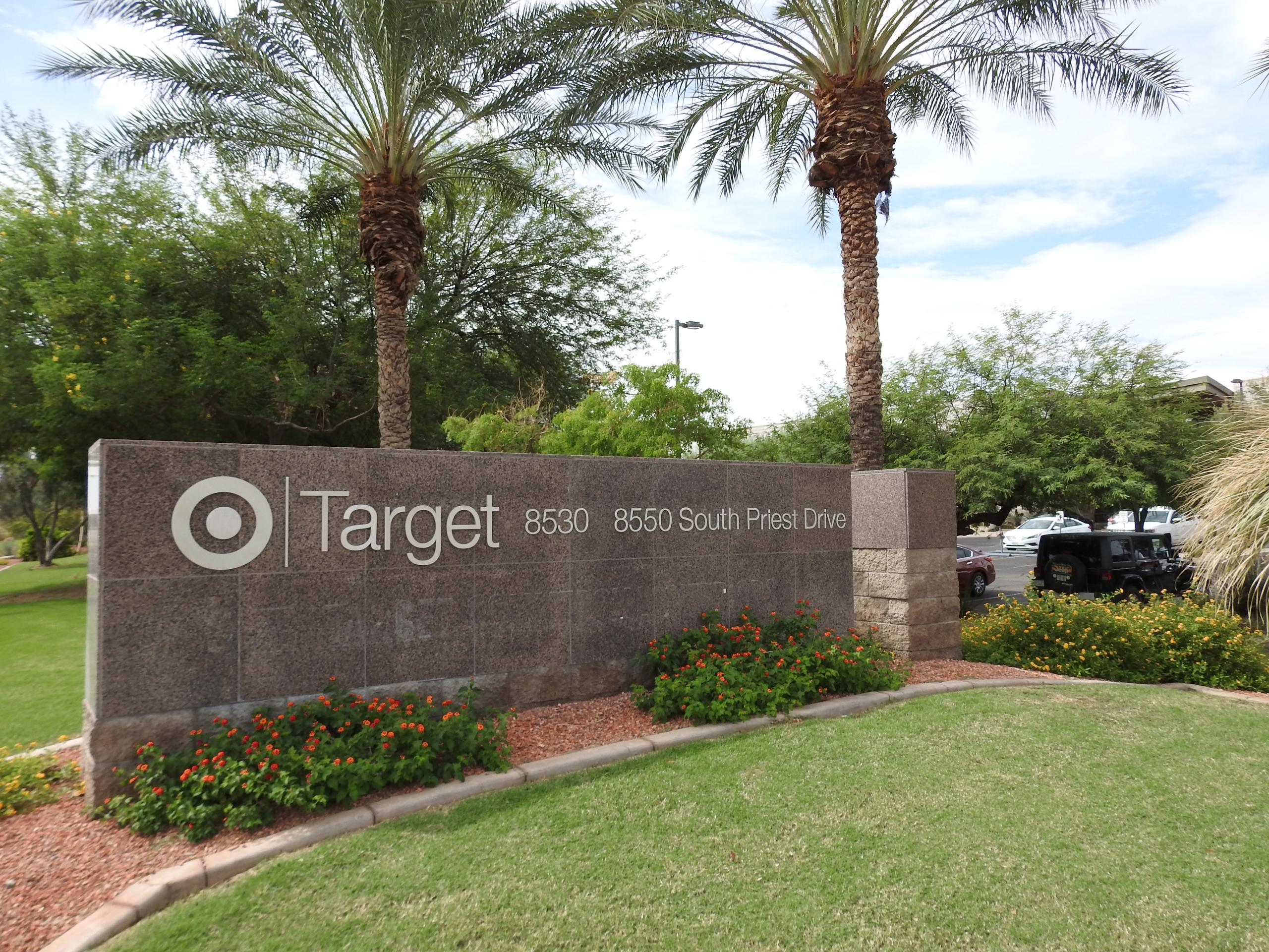 Entrance to a Target support center in Tempe, Arizona.