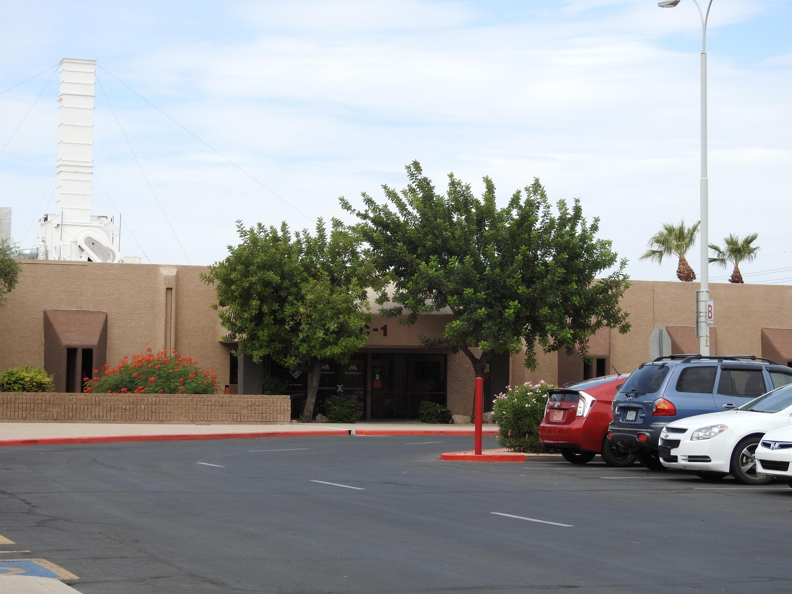 Microchip's corporate headquarters in Chandler, Arizona.