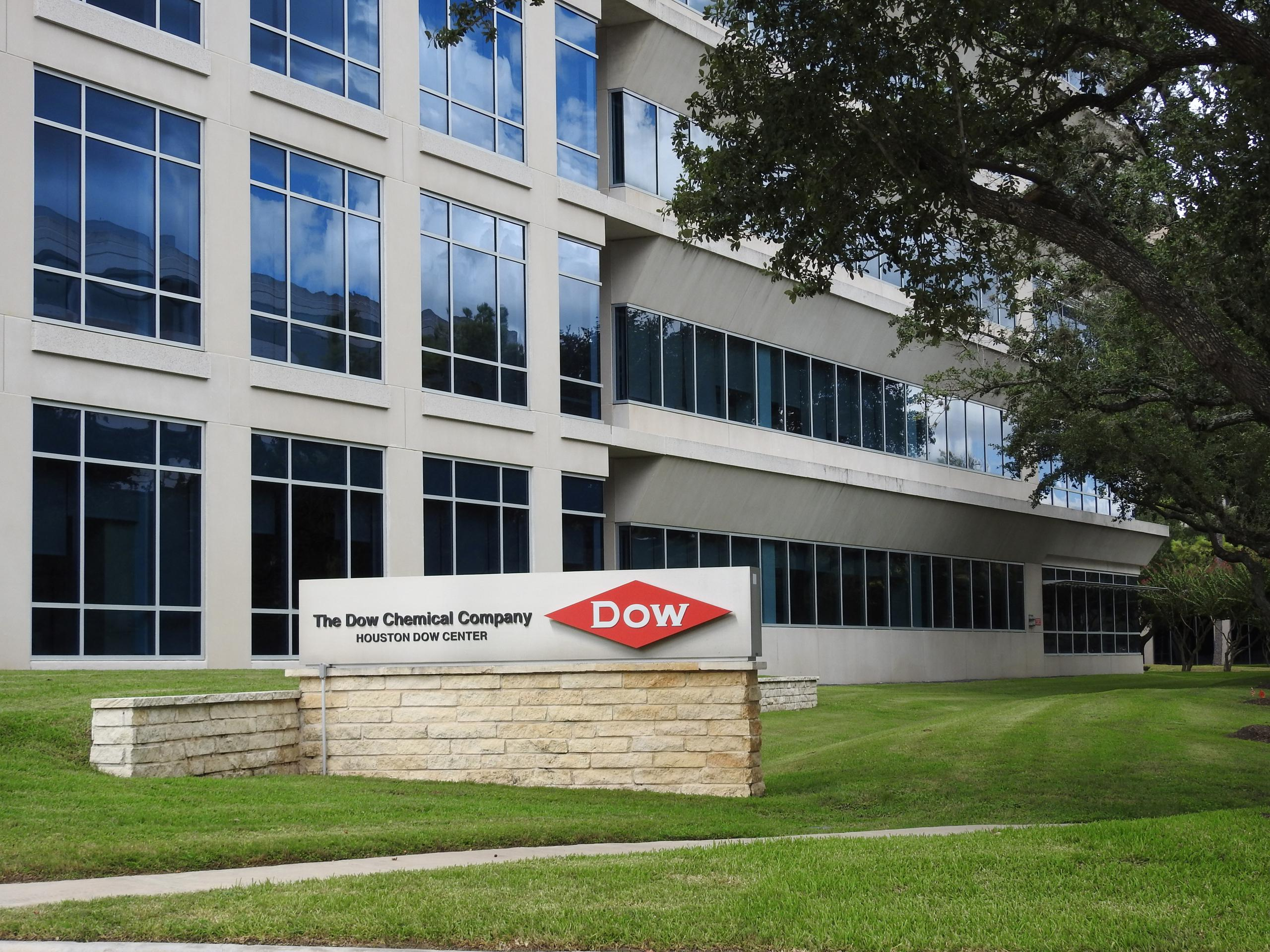 Dow Chemical office in Houston, Texas.