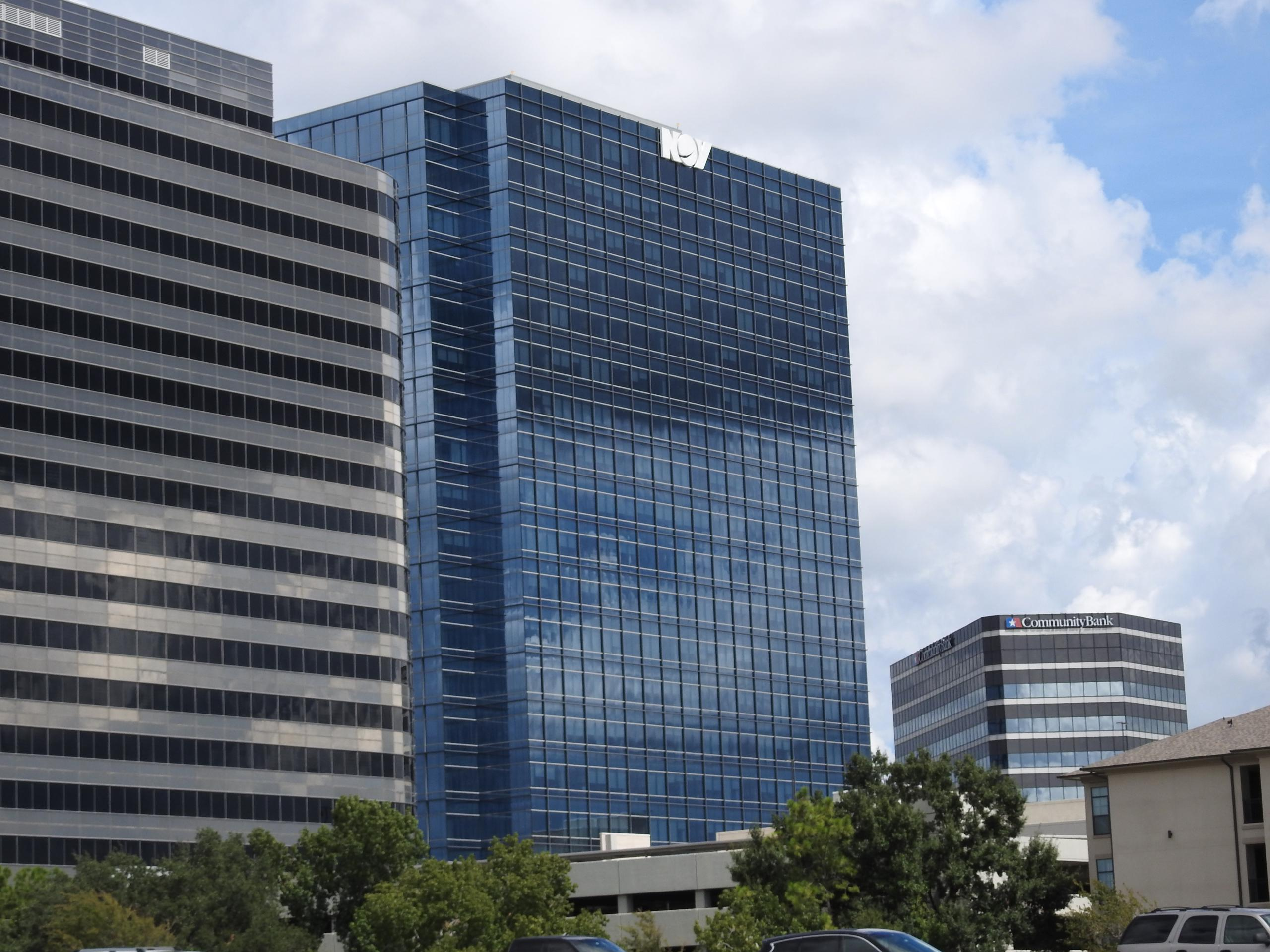 National Oilwell Varco office in Houston, Texas.