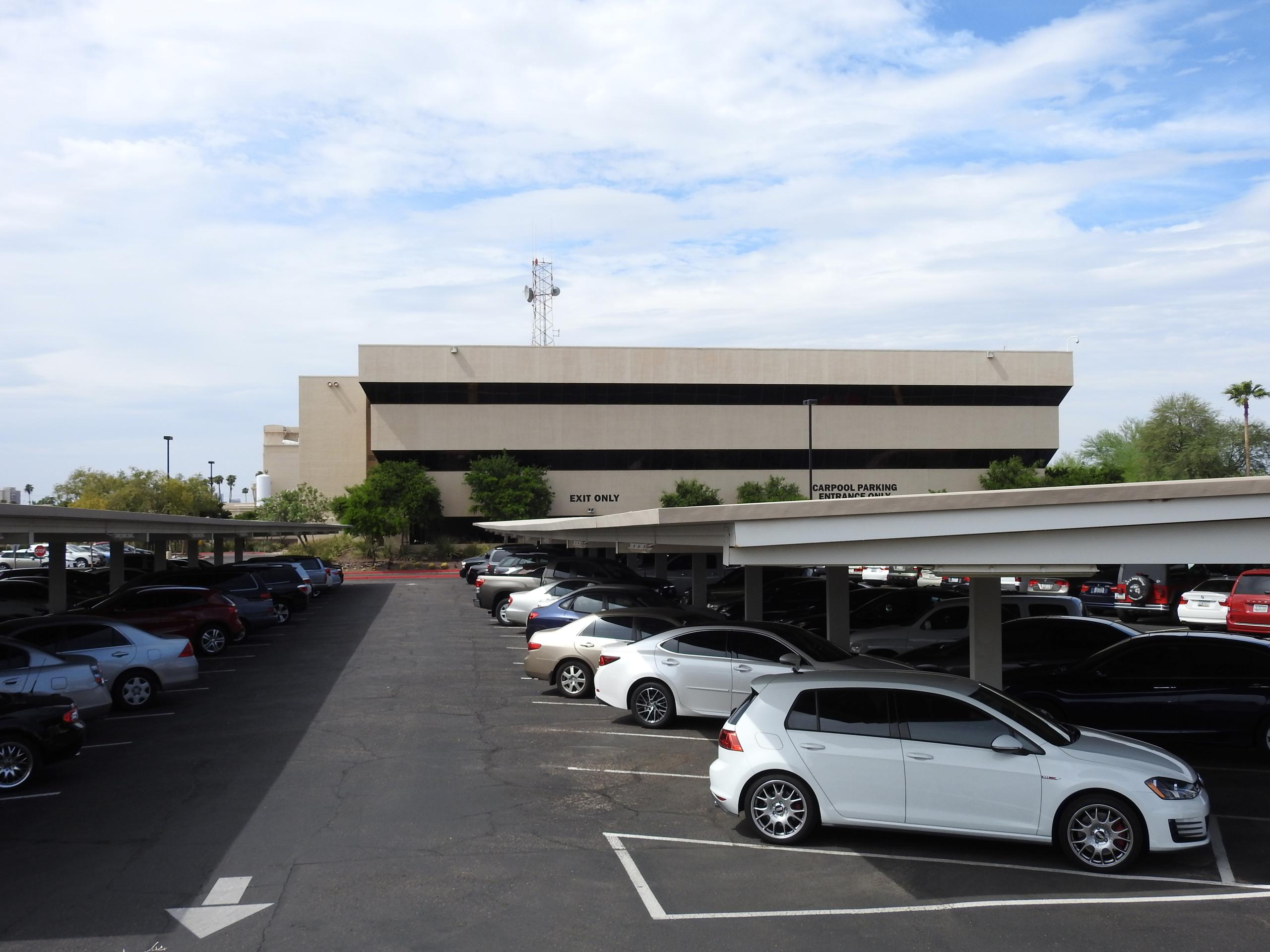 ON Semiconductor's corporate headquarters in Phoenix, Arizona.