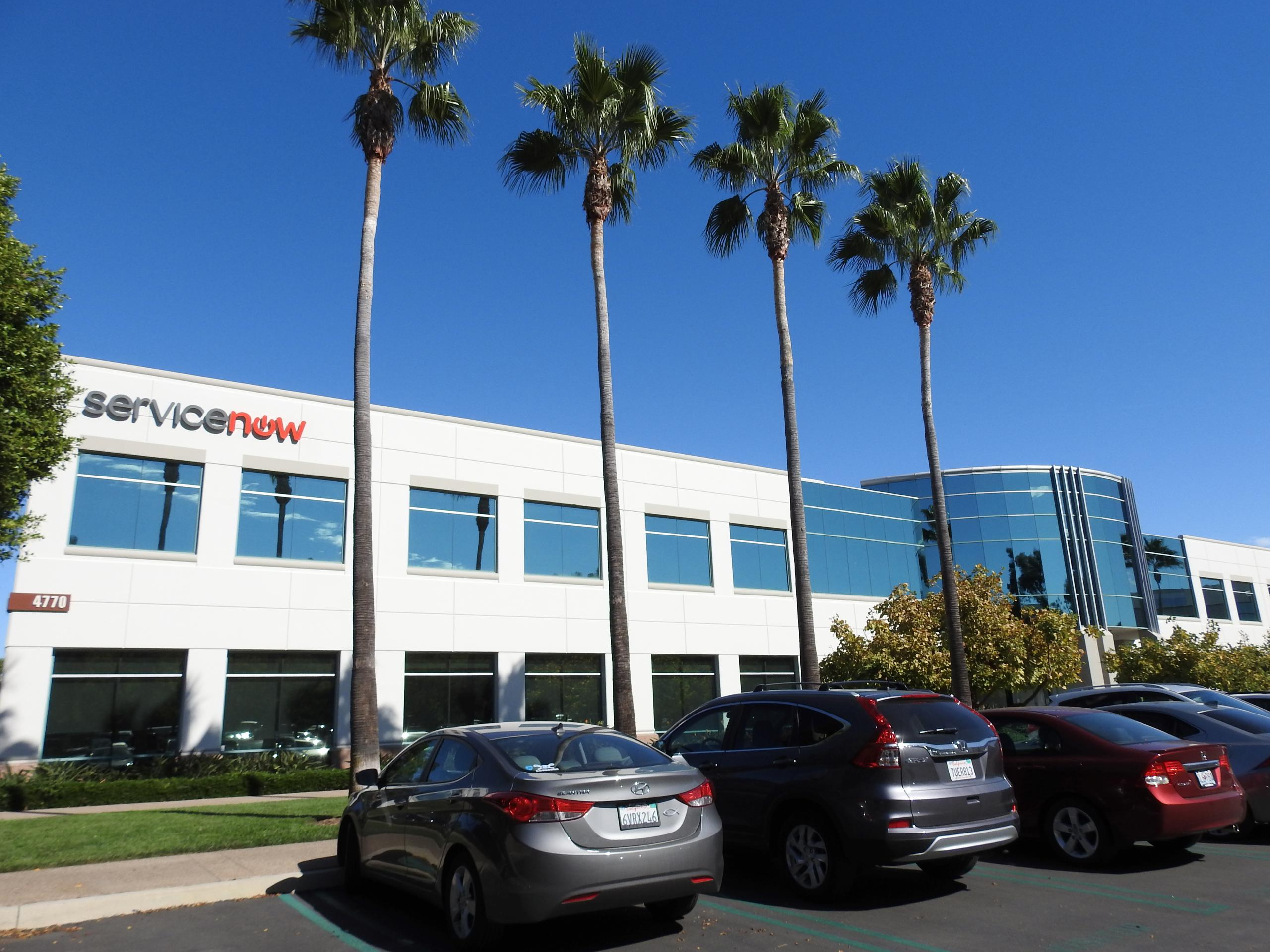ServiceNow office in San Diego, California.