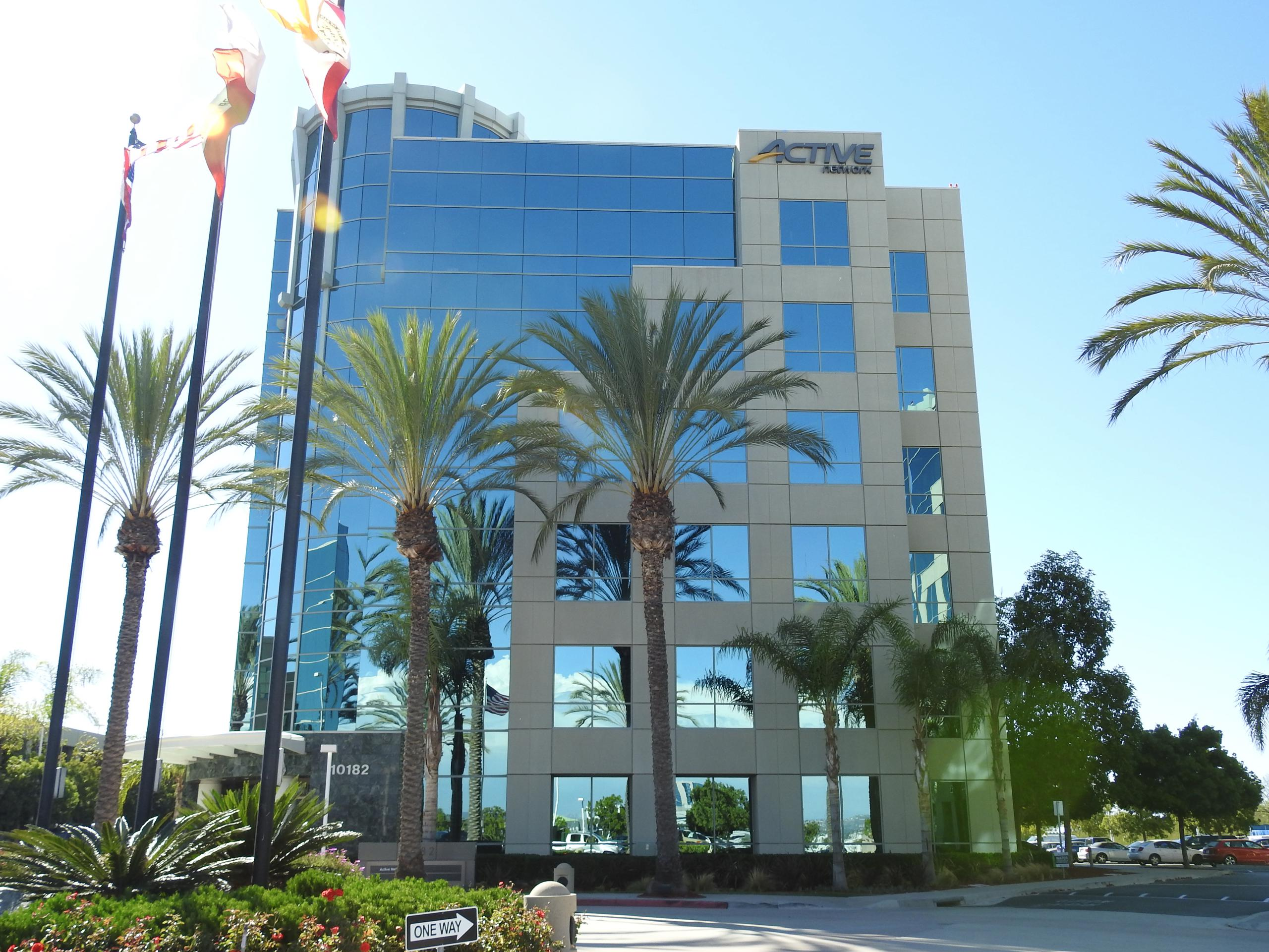 The Active Network's corporate headquarters in San Diego, California.