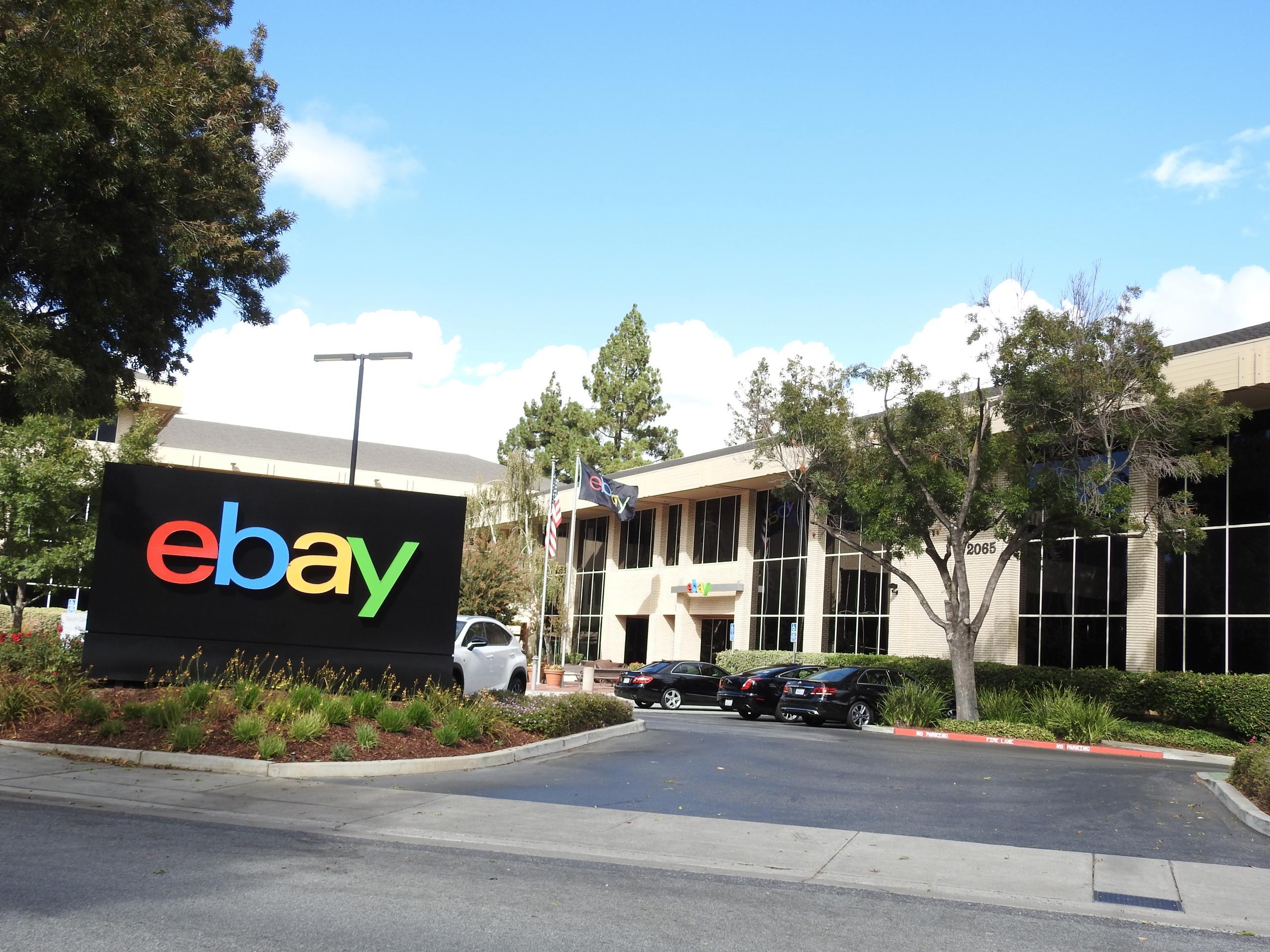eBay's corporate headquarters in San Jose, California.