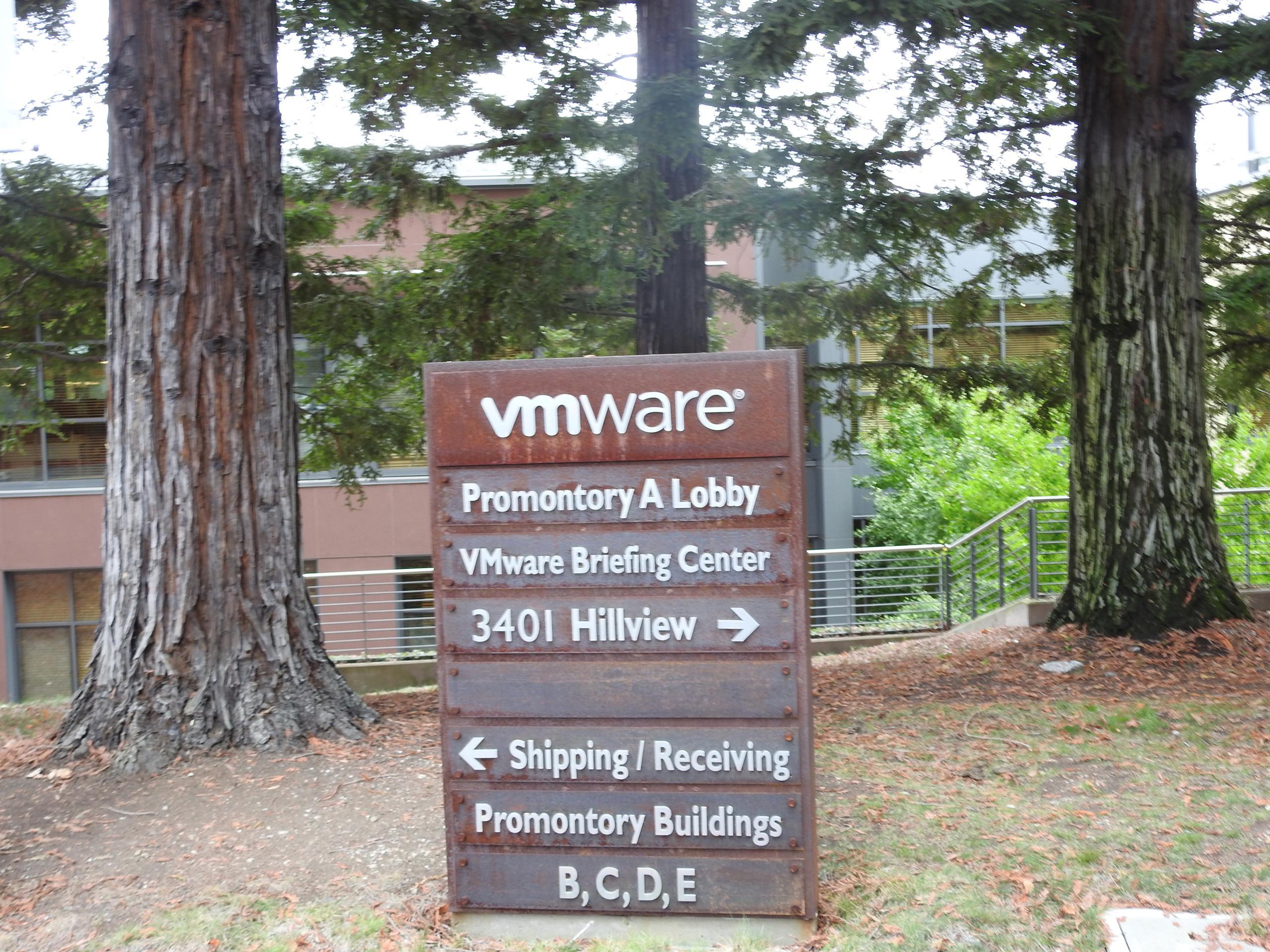VMware's corporate headquarters in Palo Alto, California.