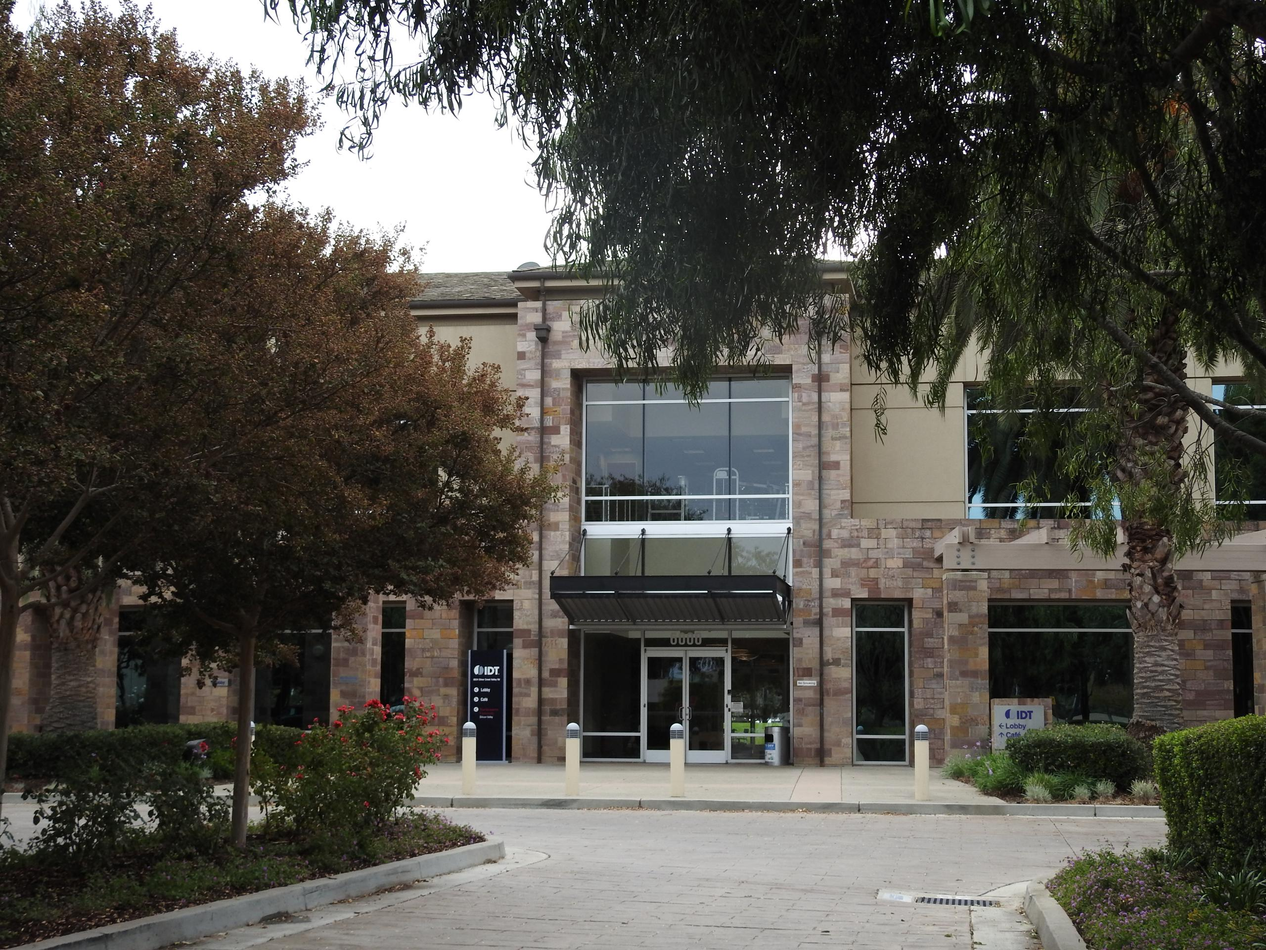 Integrated Device Technology's corporate headquarters in San Jose, California.