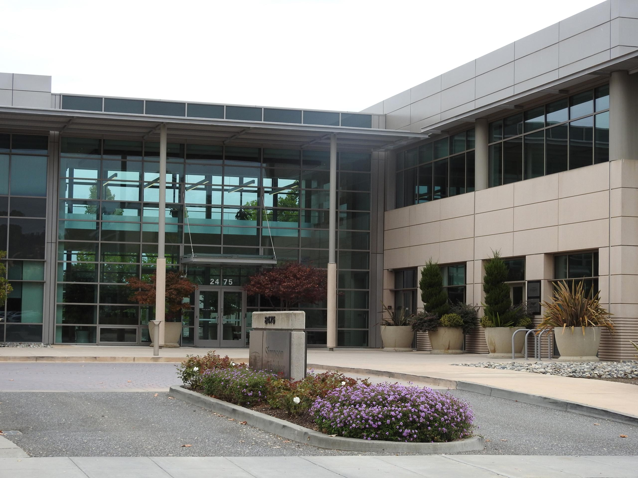 Symphony Technology Group's headquarters in Palo Alto, California.